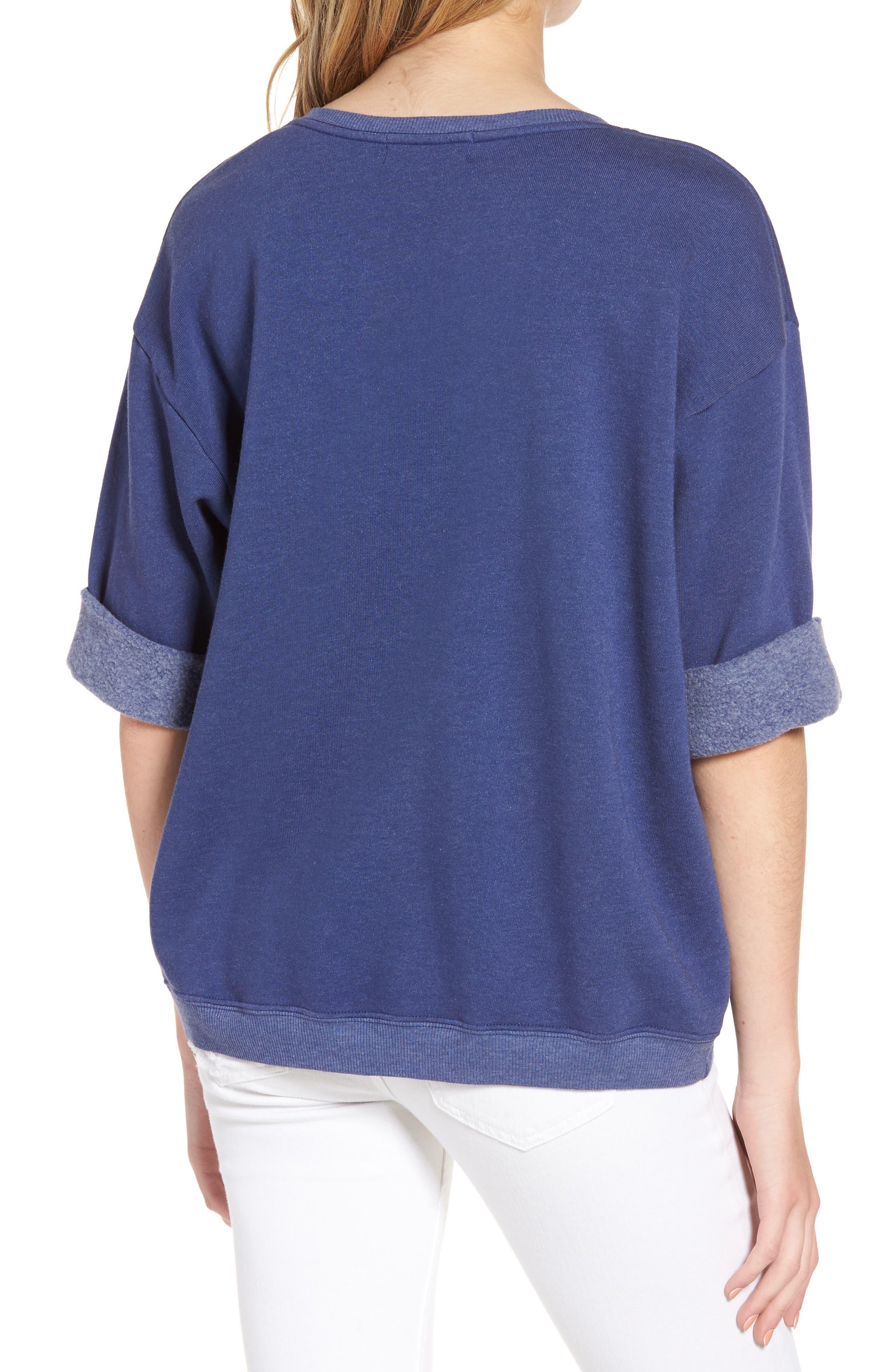 Cowgirl Sweatshirt,                             Alternate thumbnail 2, color,                             Cowboy Blue