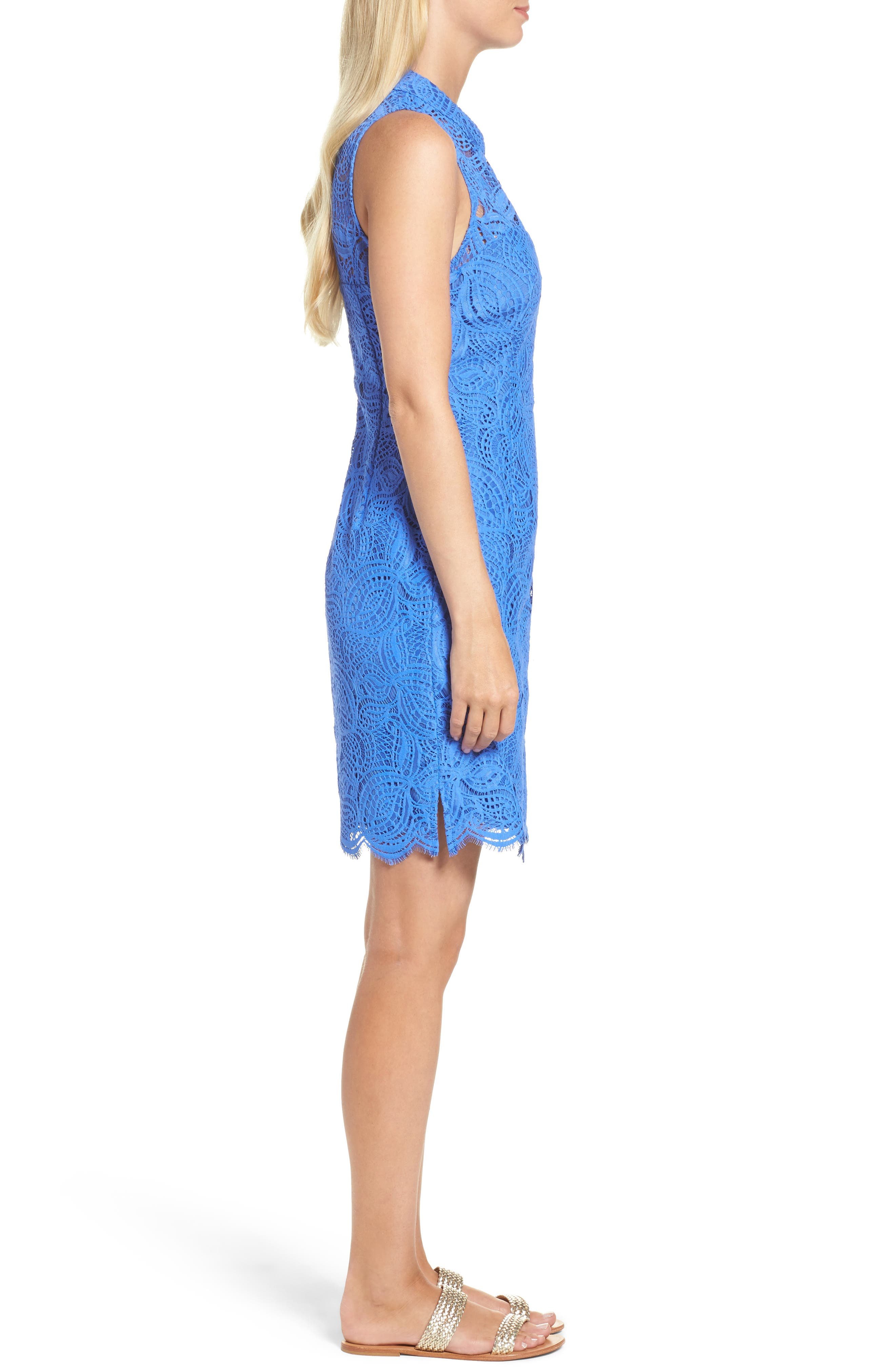 Alternate Image 3  - Lilly Pulitzer® Alexa Lace Sheath Dress