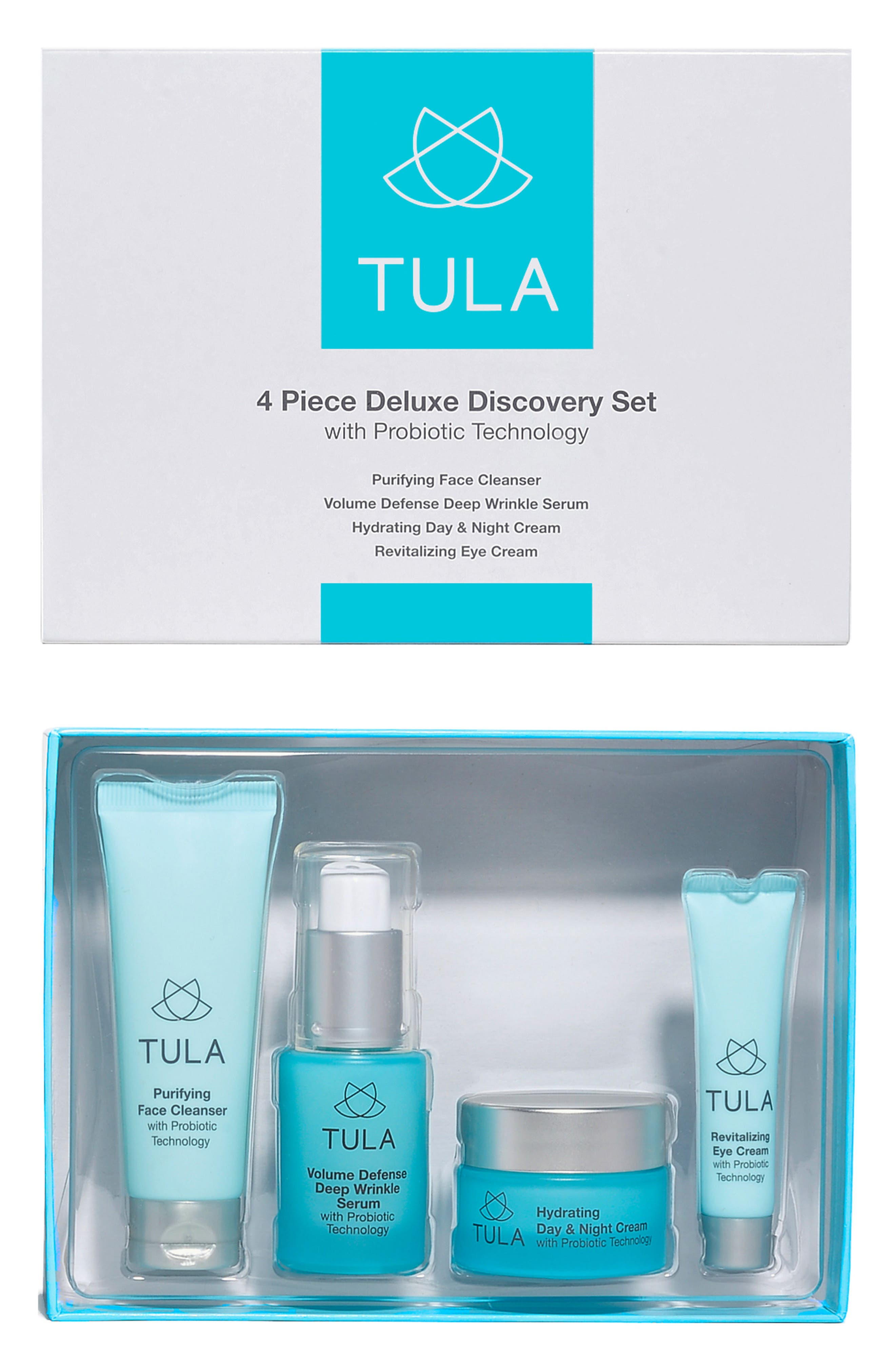 Tula Probiotic Skincare Anti-Aging Discovery Kit ($126 Value)