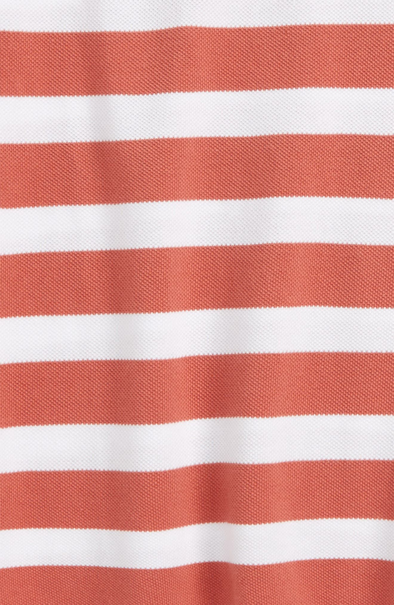 Alternate Image 2  - Burberry Stripe Polo (Little Boys & Big Boys)