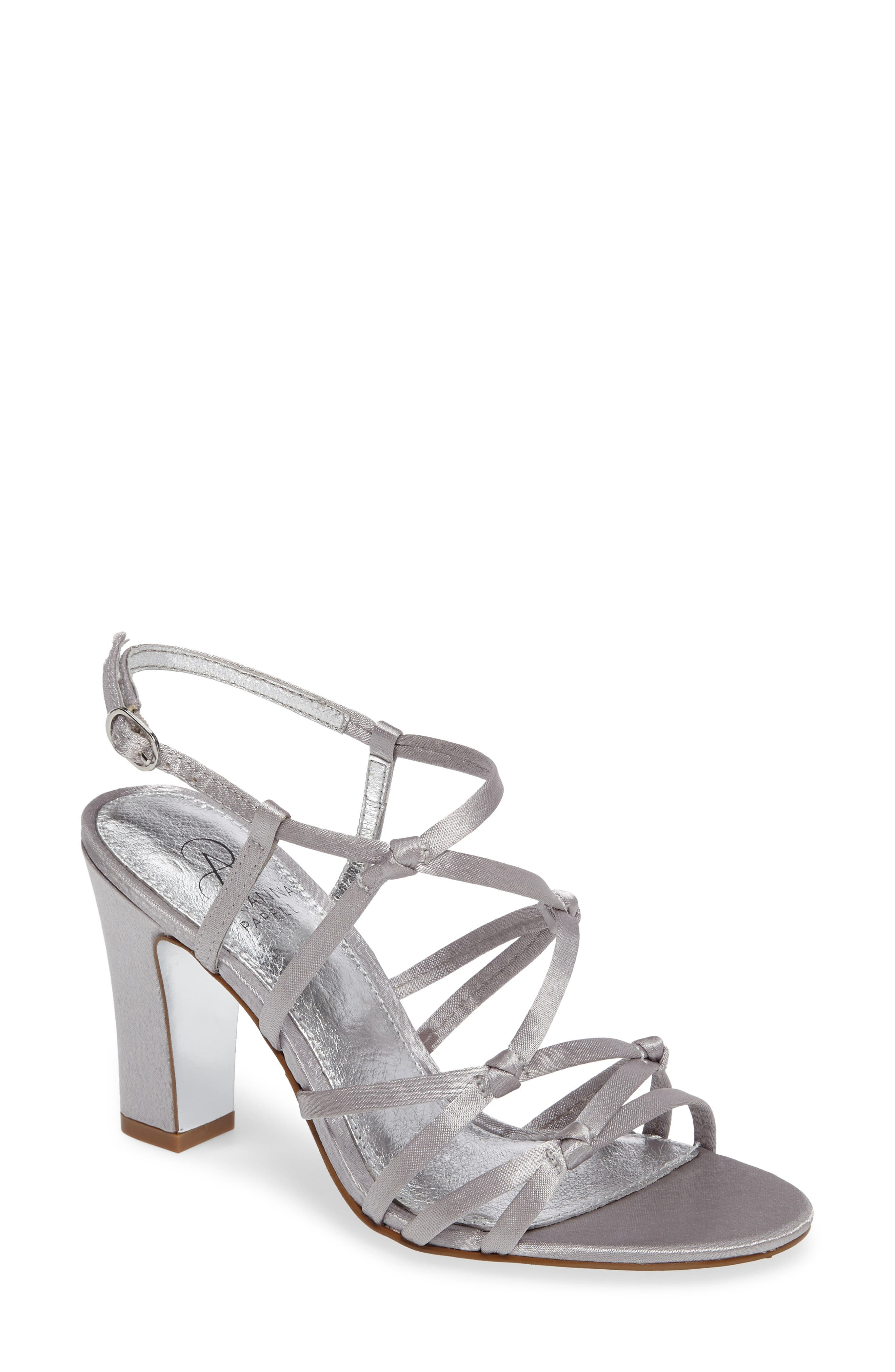 Adrianna Papell Adelson Knotted Strappy Sandal (Women)