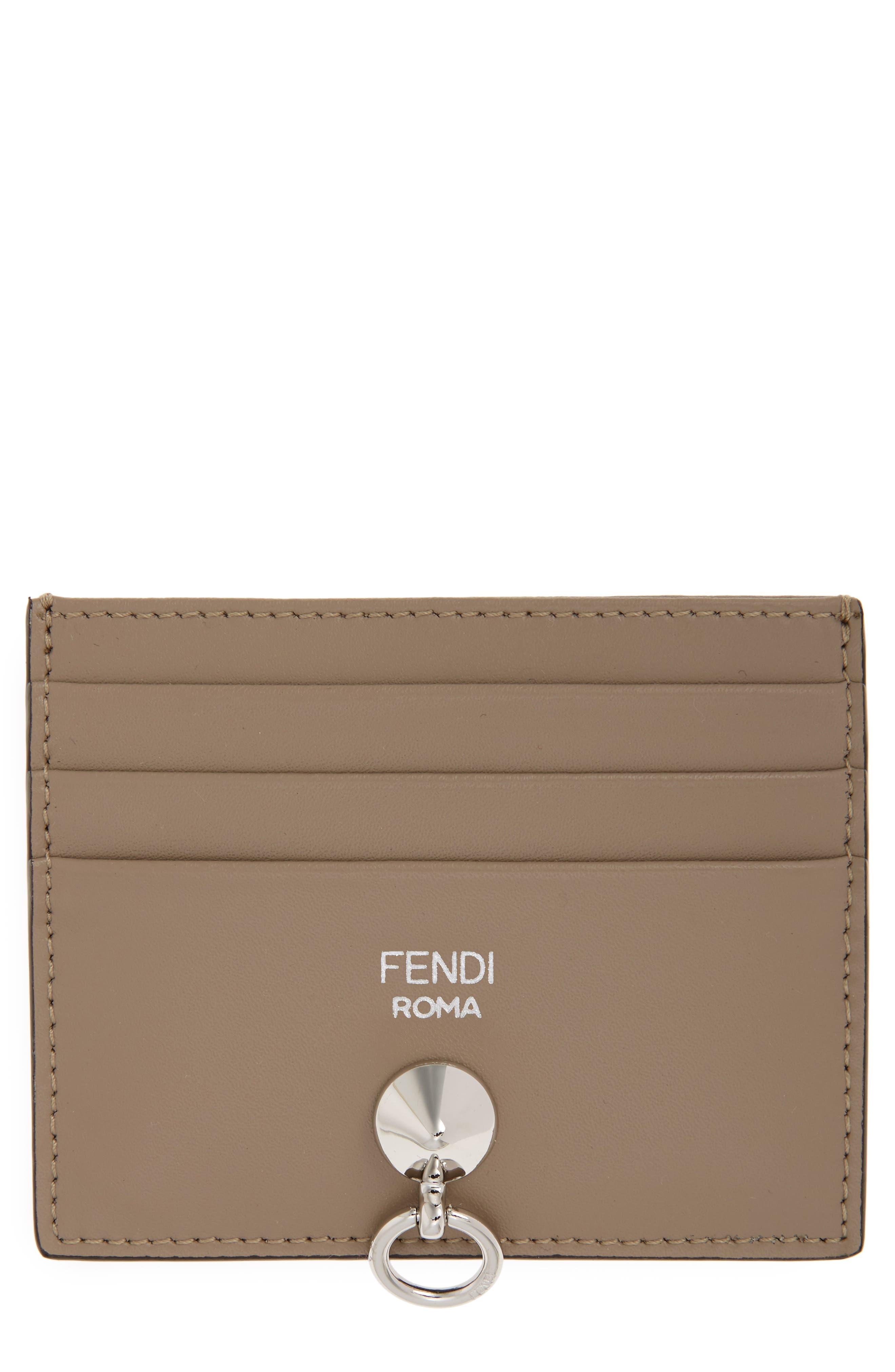 Fendi Liberty Calfskin Card Case