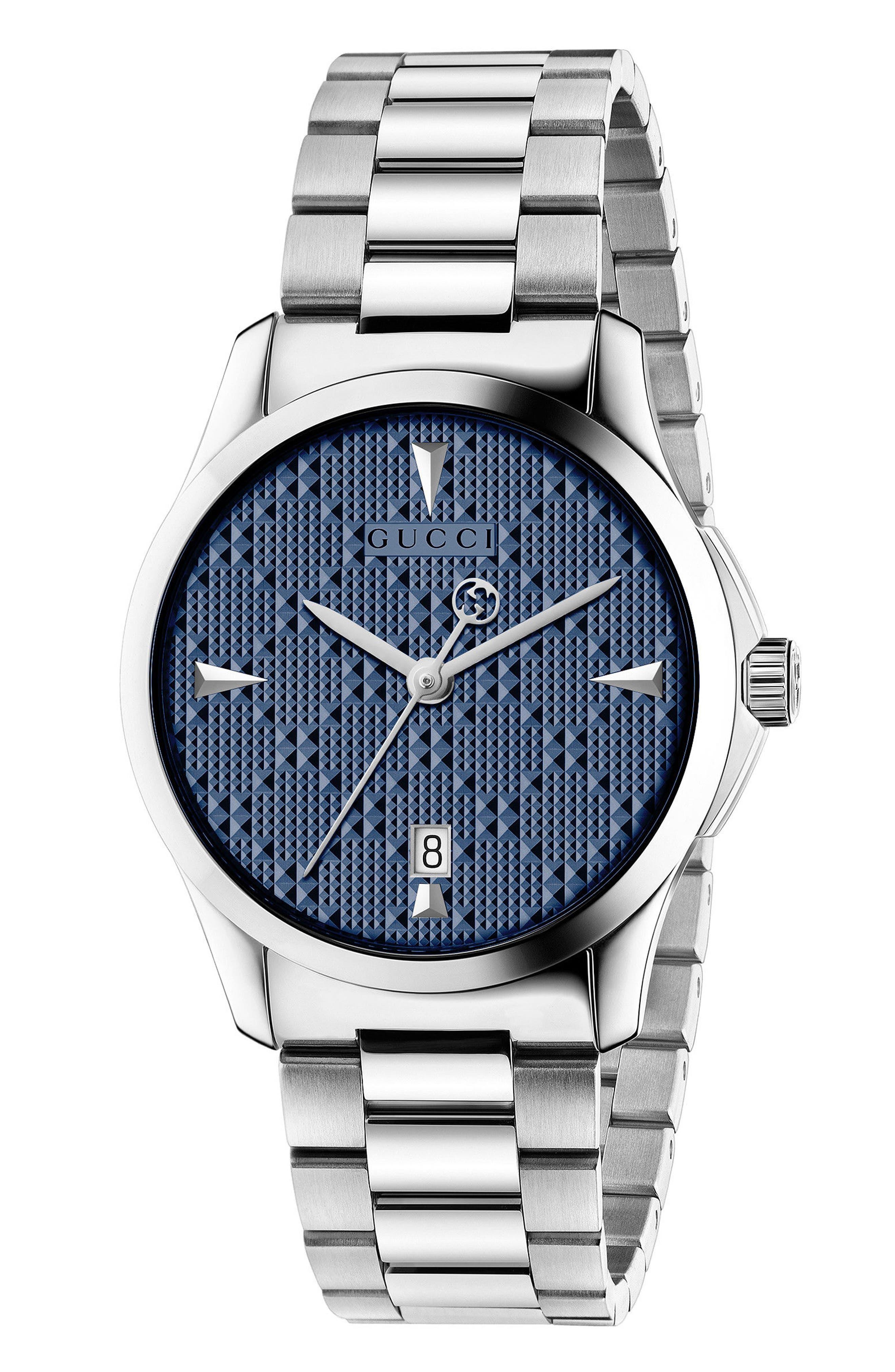 Alternate Image 1 Selected - Gucci G-Timeless Bracelet Watch, 38mm