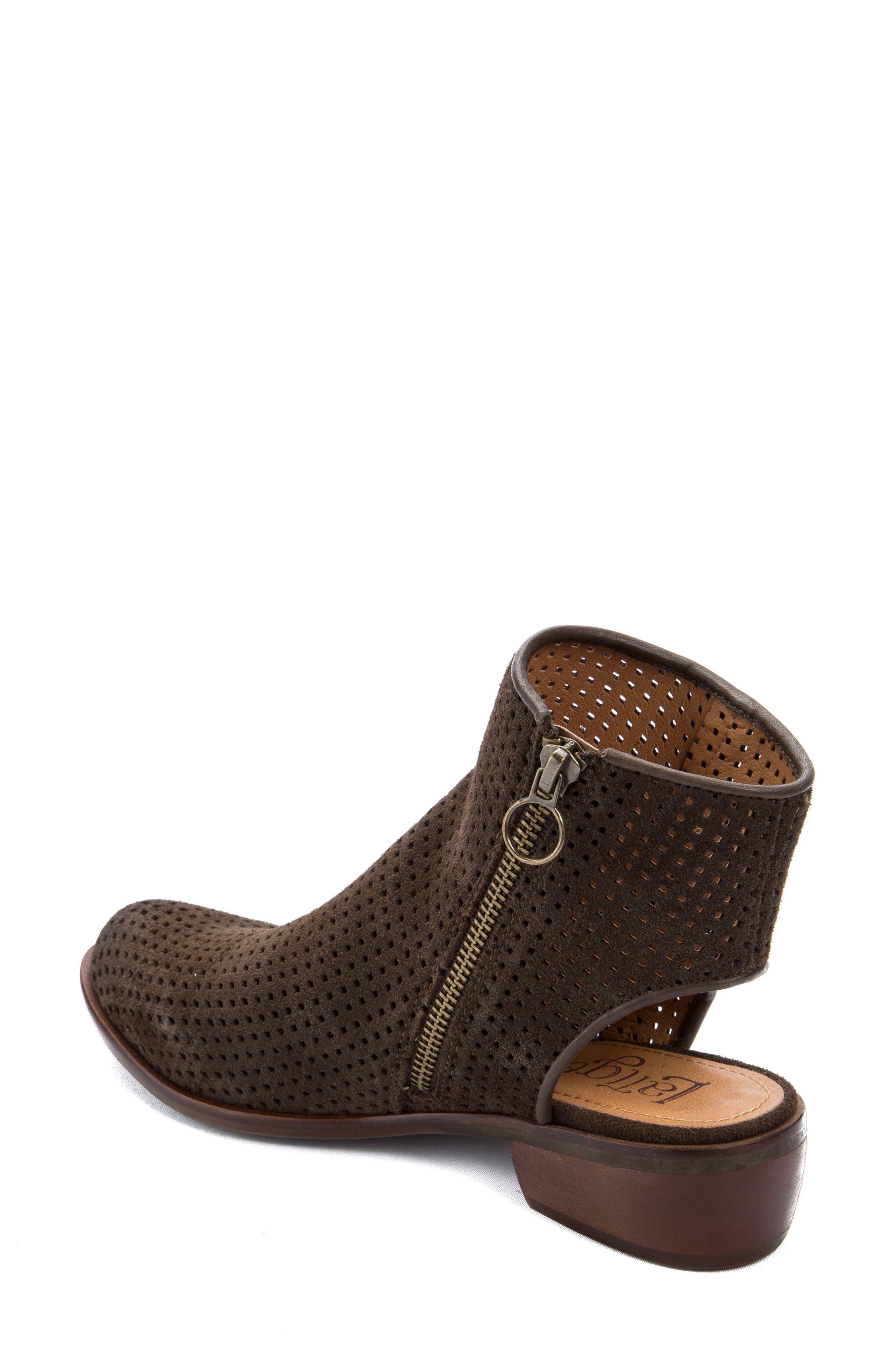 Alternate Image 2  - Latigo Izadore Perforated Open Heel Bootie (Women)