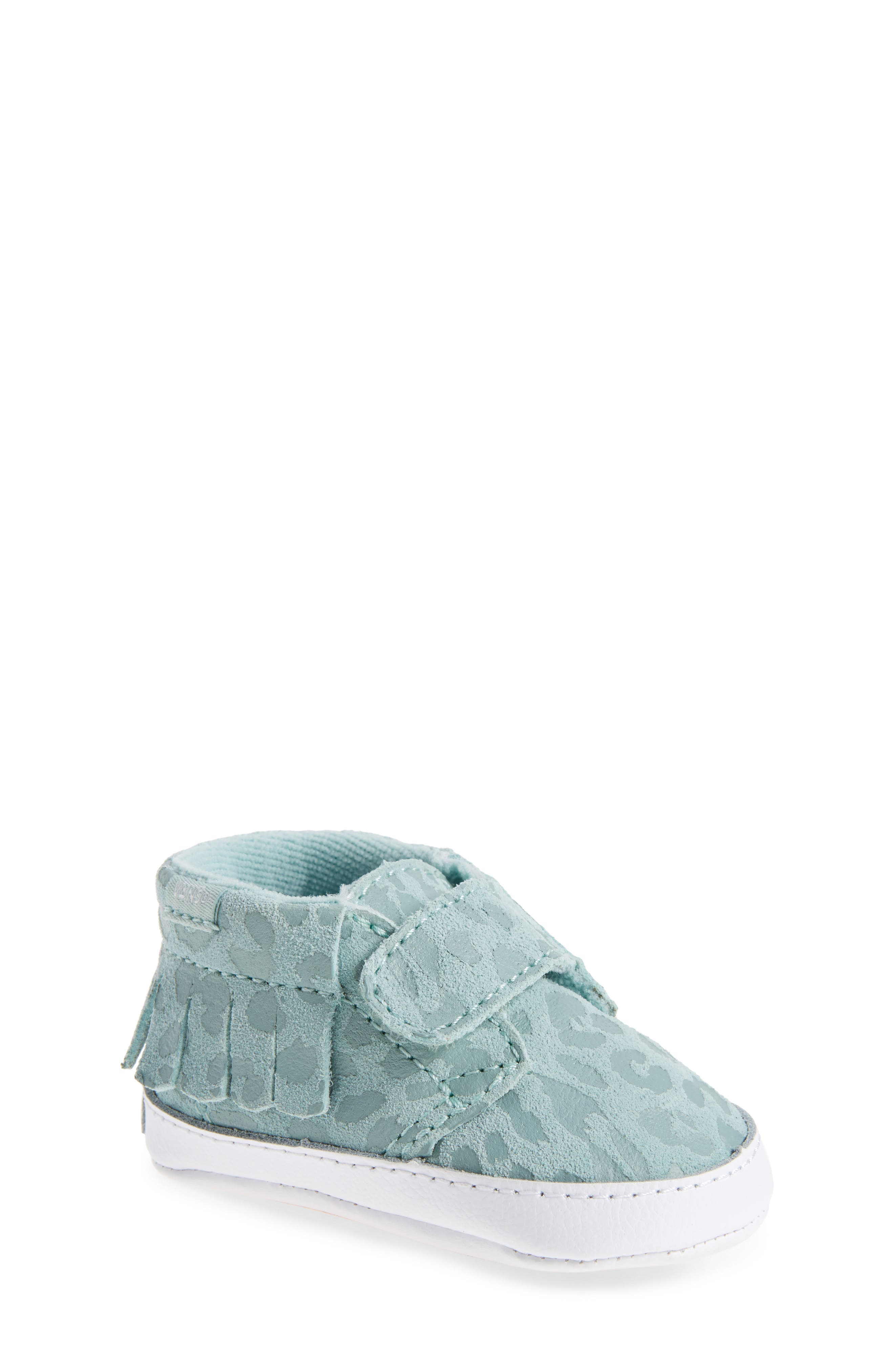 'Chukka V Moc' Slip-On,                         Main,                         color, Harbor Gray Leopard Suede