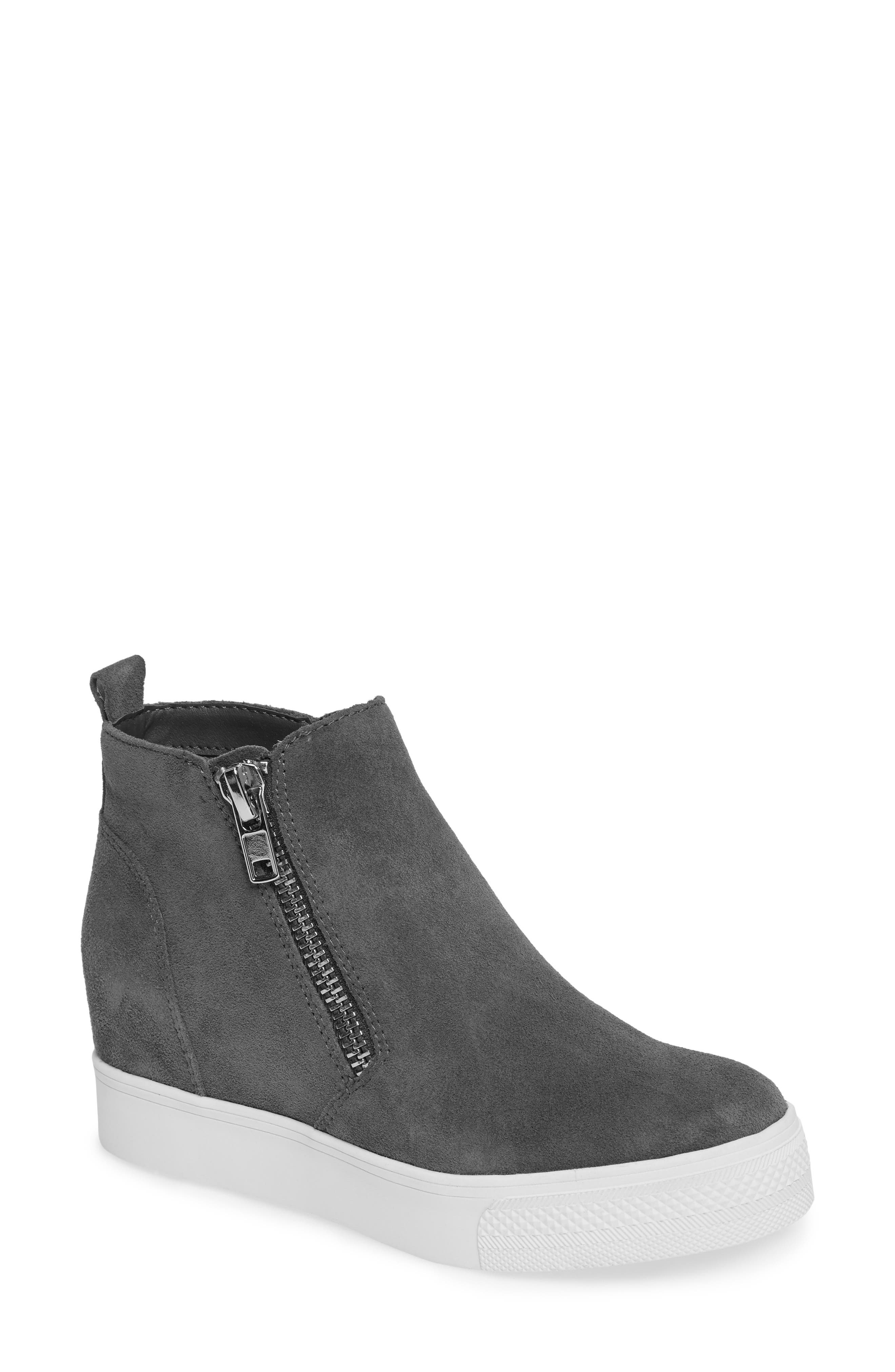 Alternate Image 1 Selected - Steve Madden Wedgie High Top Platform Sneaker (Women)