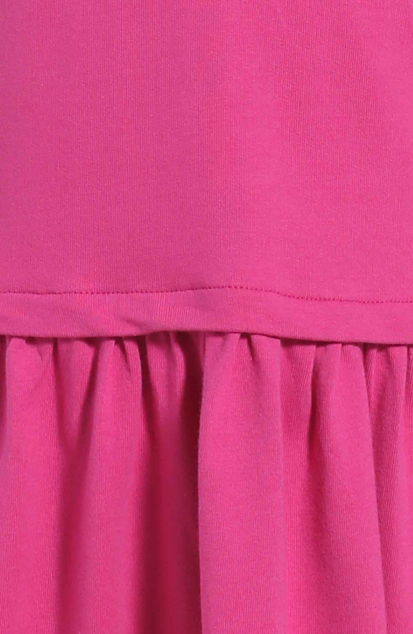 Alternate Image 3  - Tea Collection Solid Pocket Dress (Toddler Girls, Little Girls & Big Girls)