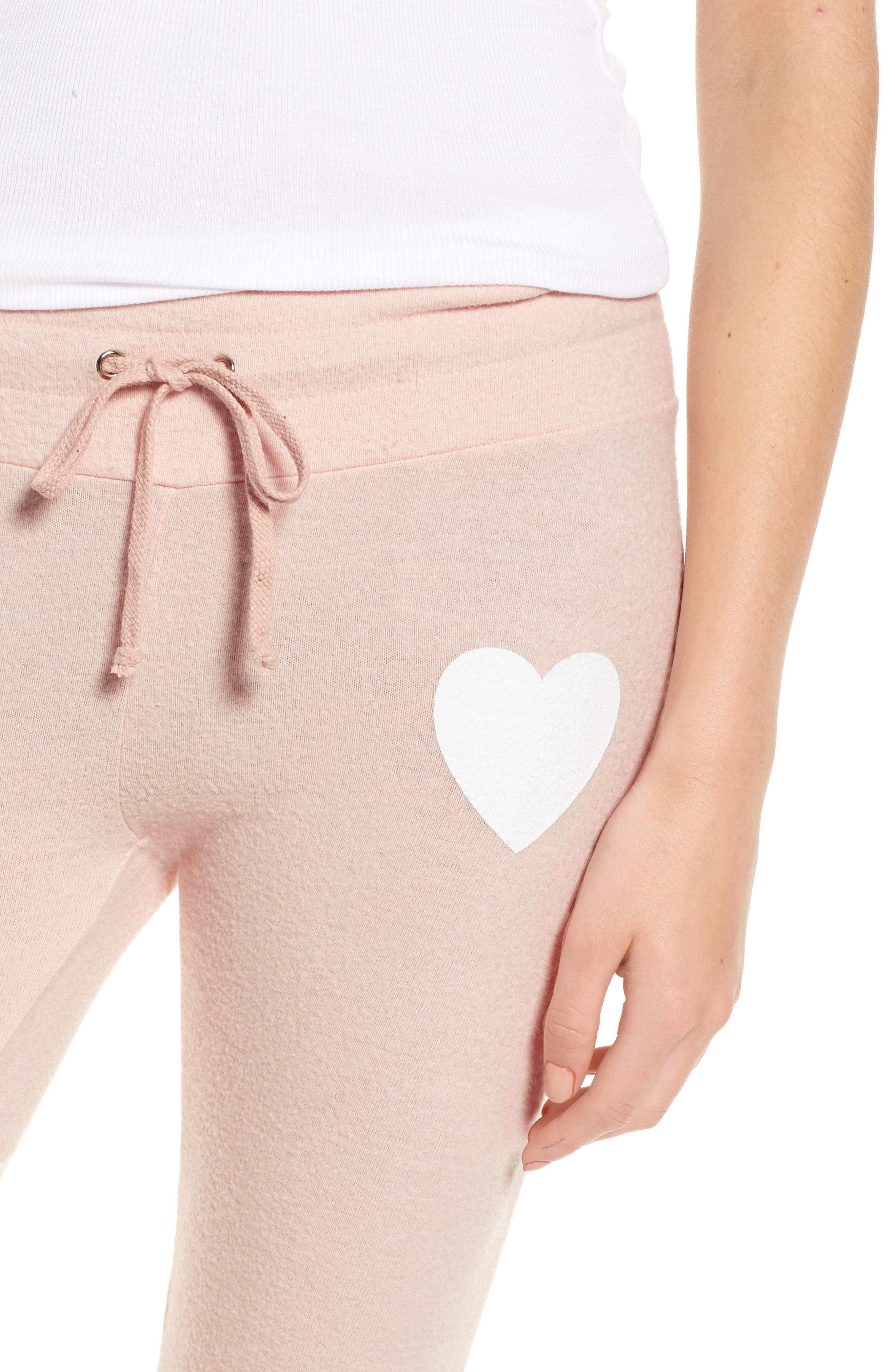 Rosé All Day Skinny Pants,                             Alternate thumbnail 5, color,                             Rose