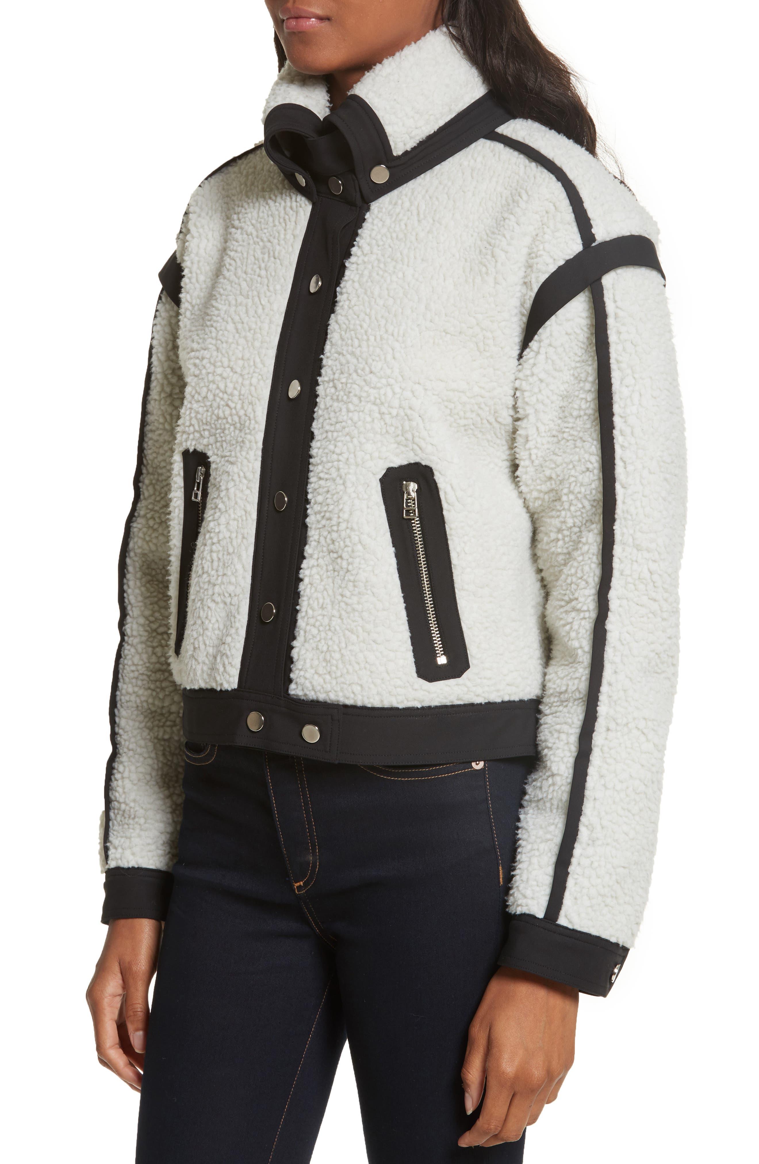 Alternate Image 4  - Veronica Beard Anita Fleece Jacket
