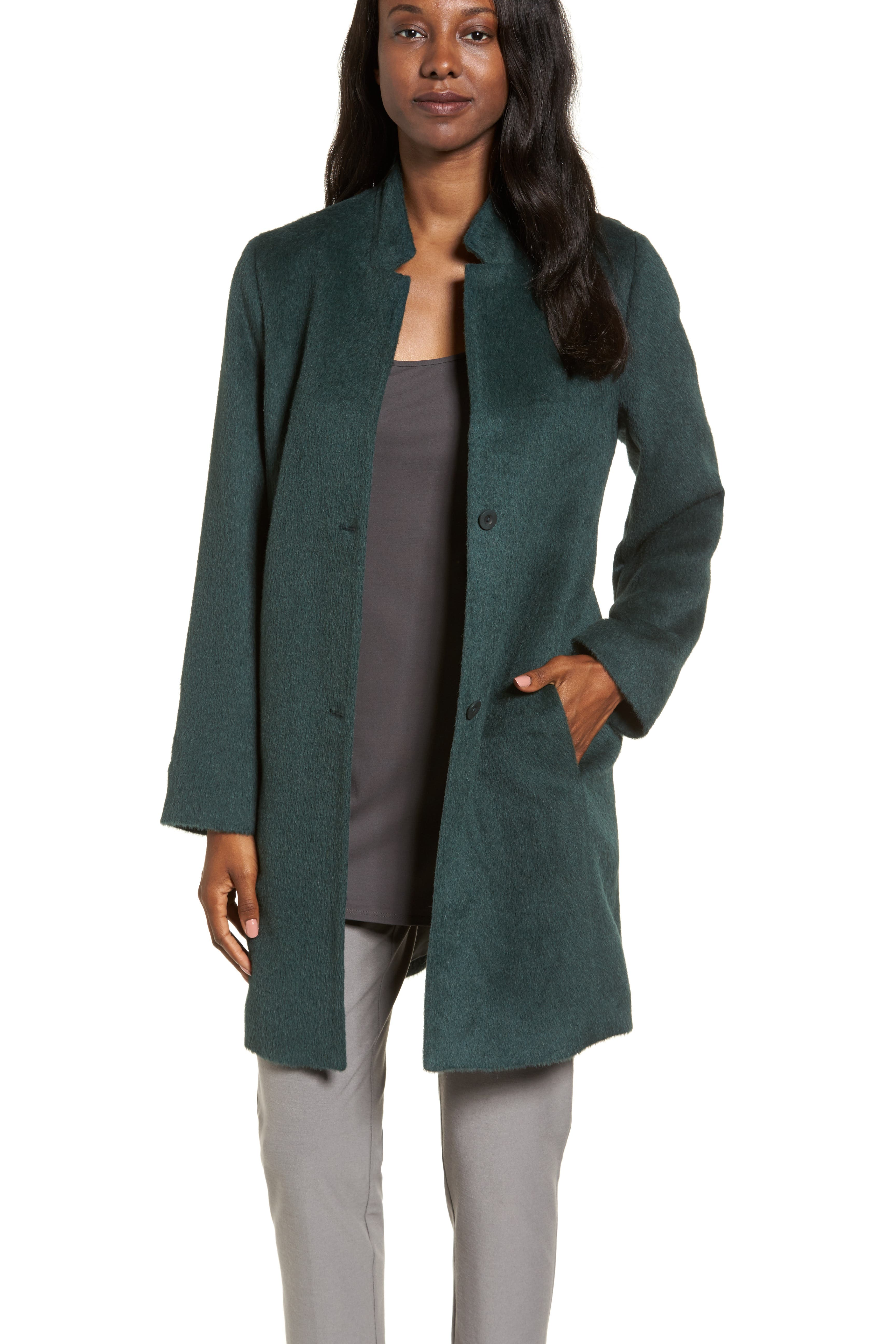 Eileen Fisher Alpaca Blend Coat