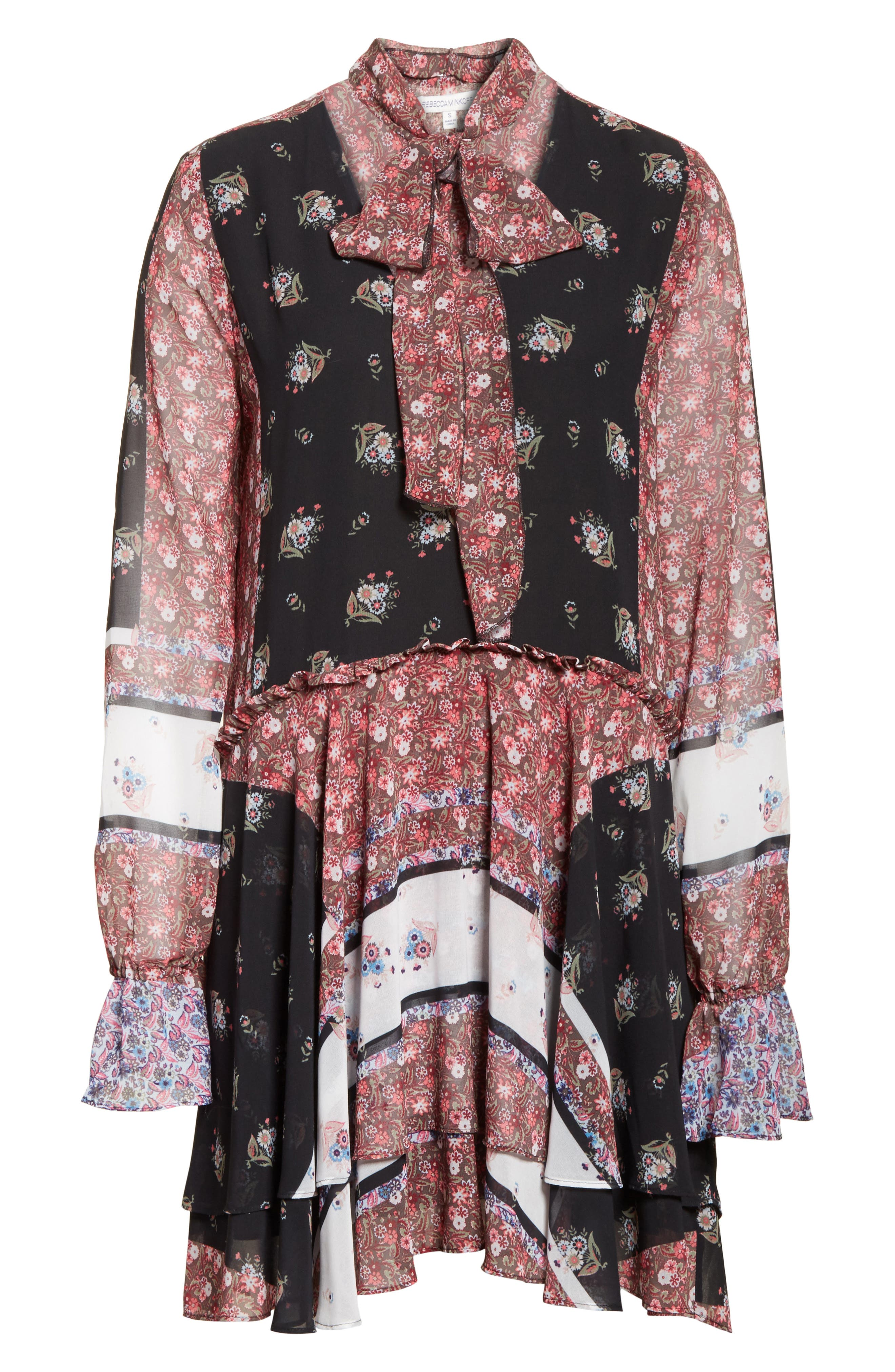 Alternate Image 6  - Rebecca Minkoff Fiona Print Shift Dress