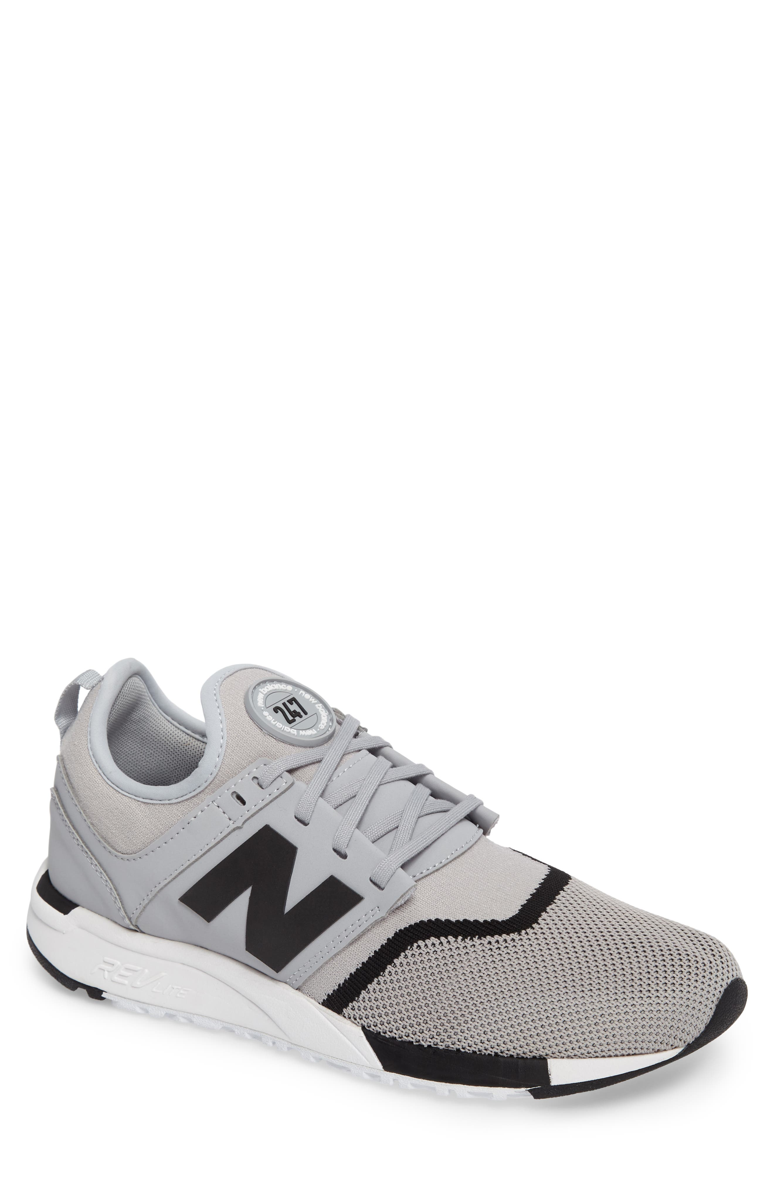 Alternate Image 1 Selected - New Balance 247 Sport Knit Sneaker (Men)