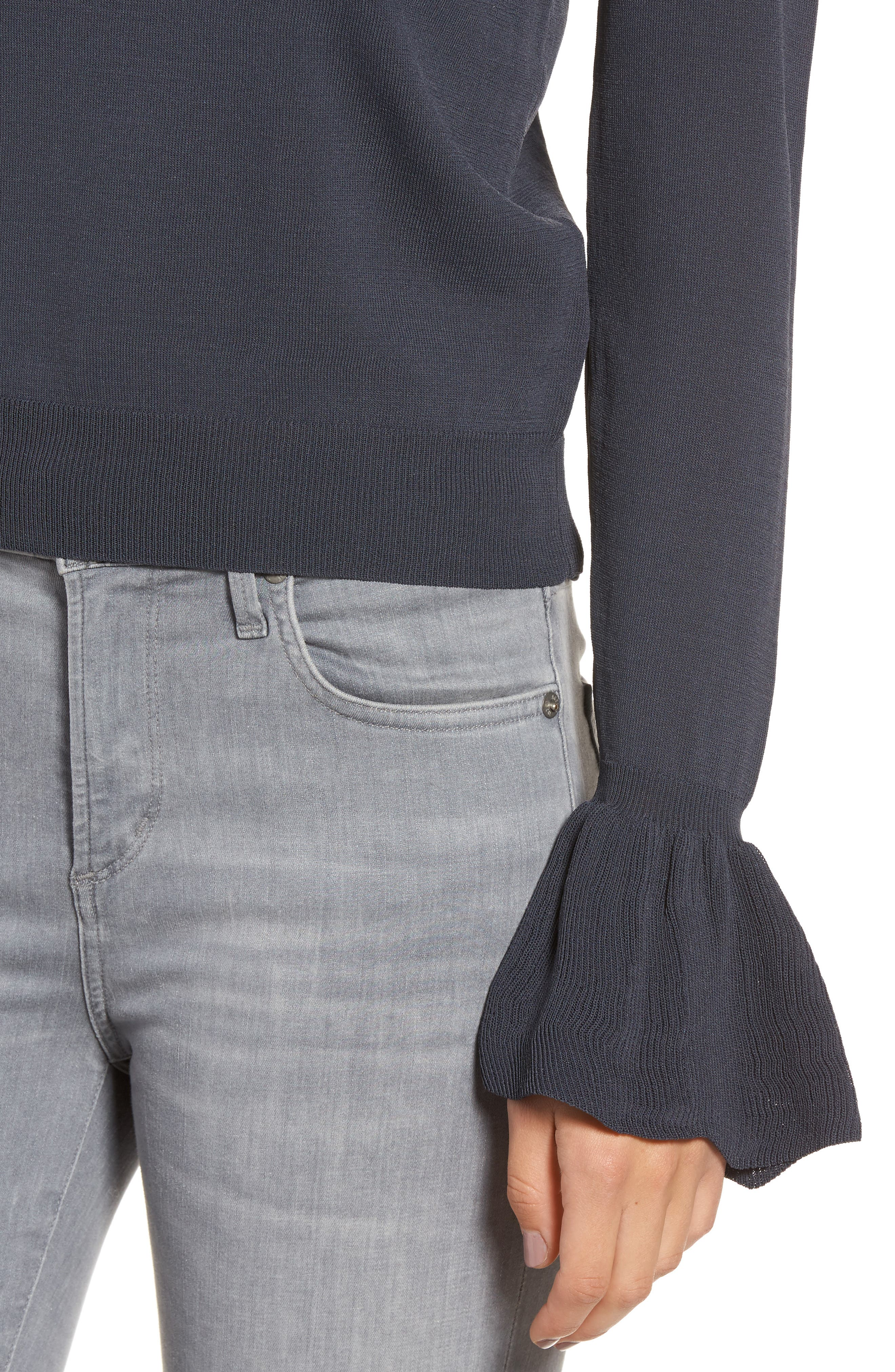 Alternate Image 4  - Leith Flare Cuff Sweater