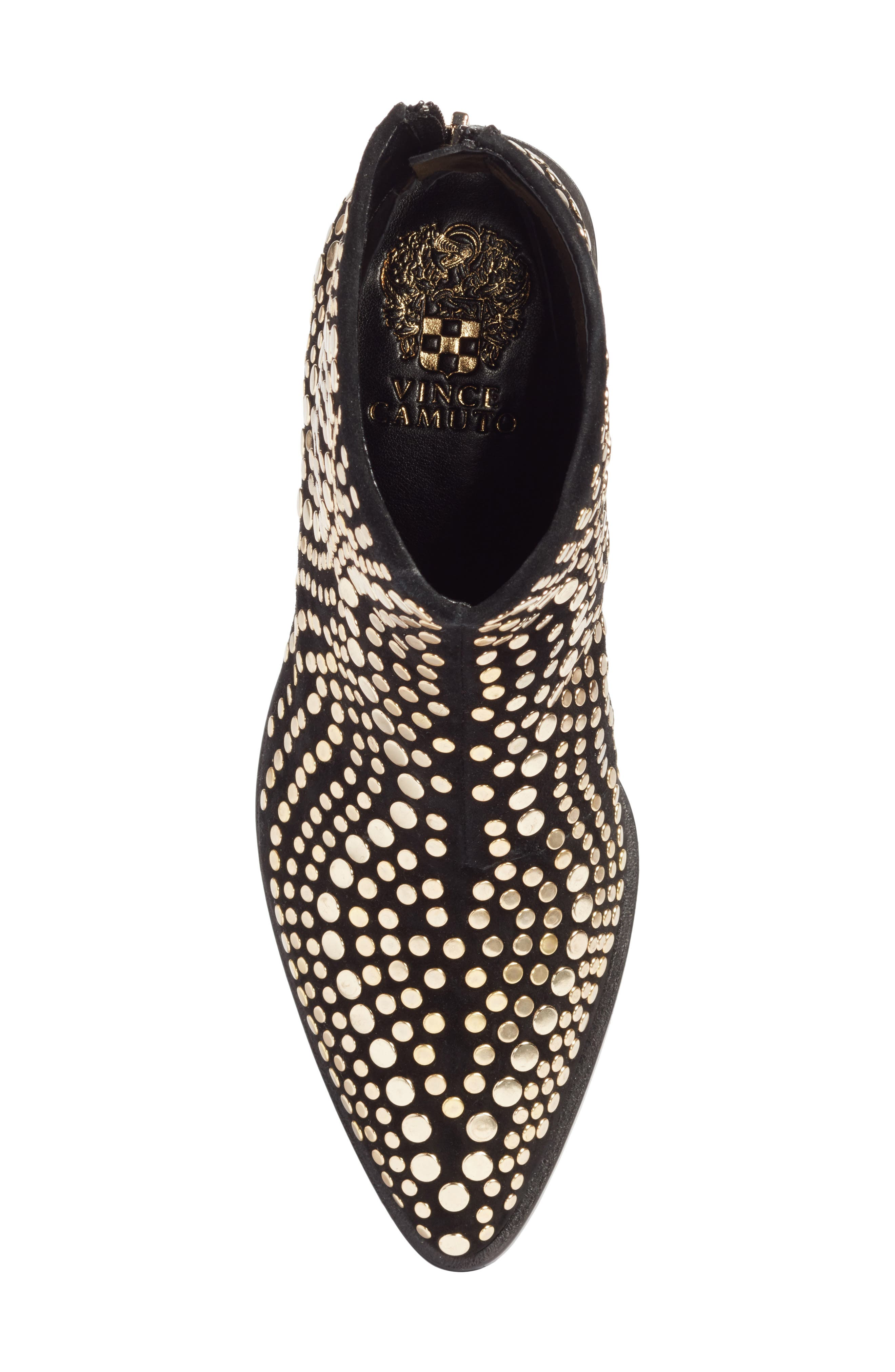 Alternate Image 5  - Vince Camuto Edenny Studded Pointy Toe Bootie (Women)