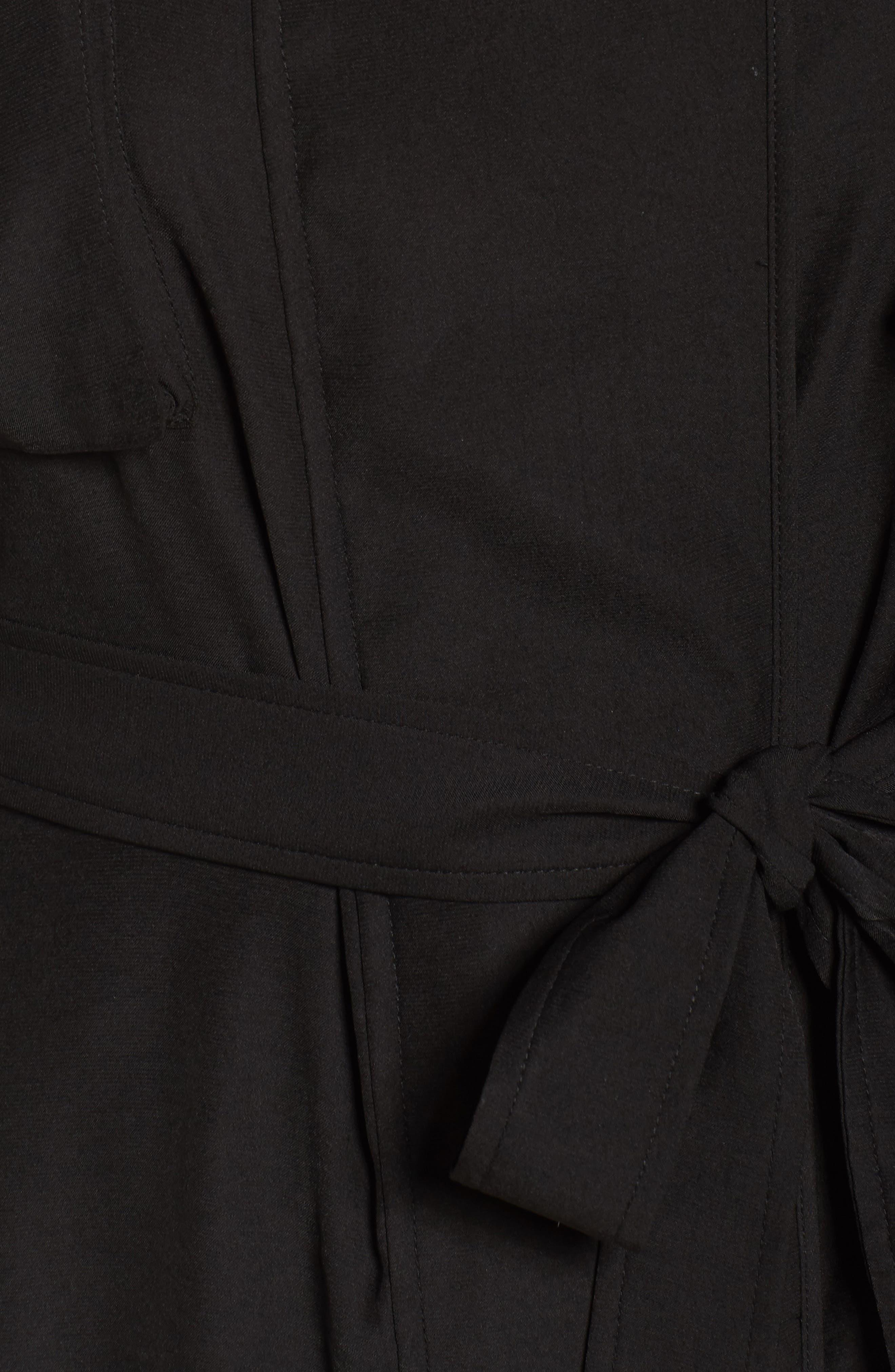 Utility Jacket,                             Alternate thumbnail 5, color,                             Black
