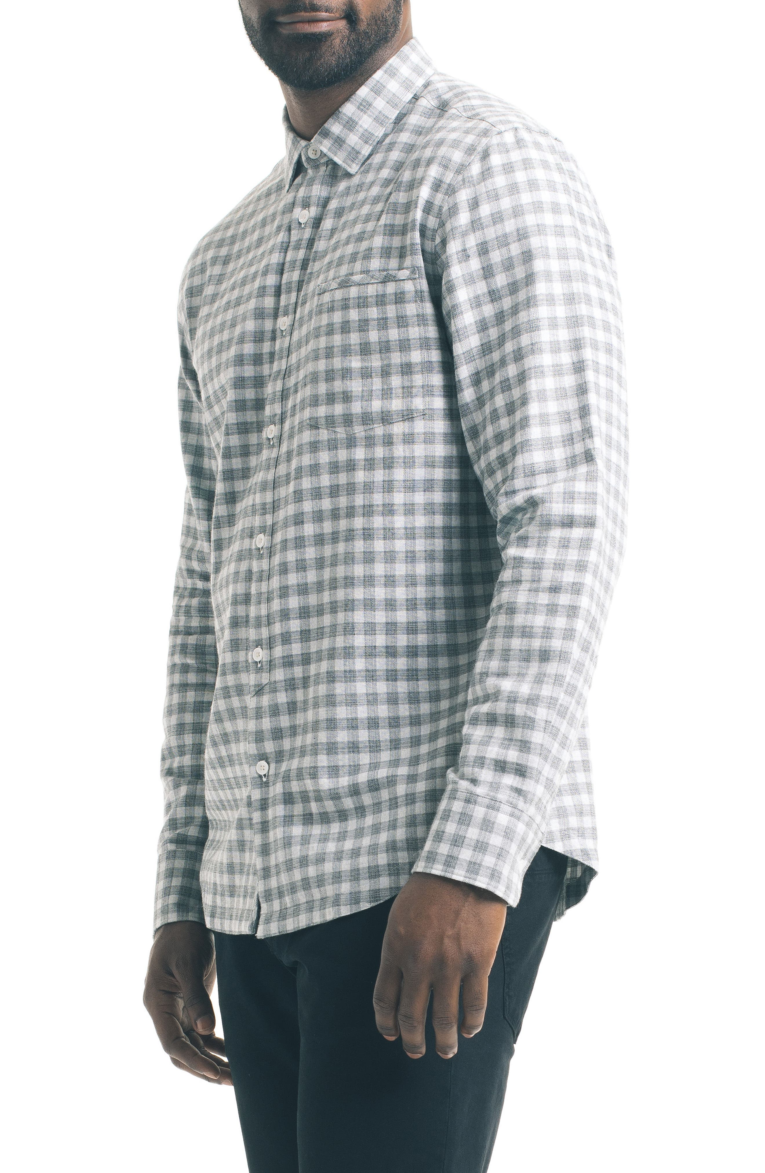 Alternate Image 4  - Good Man Brand Slim Fit Check Sport Shirt