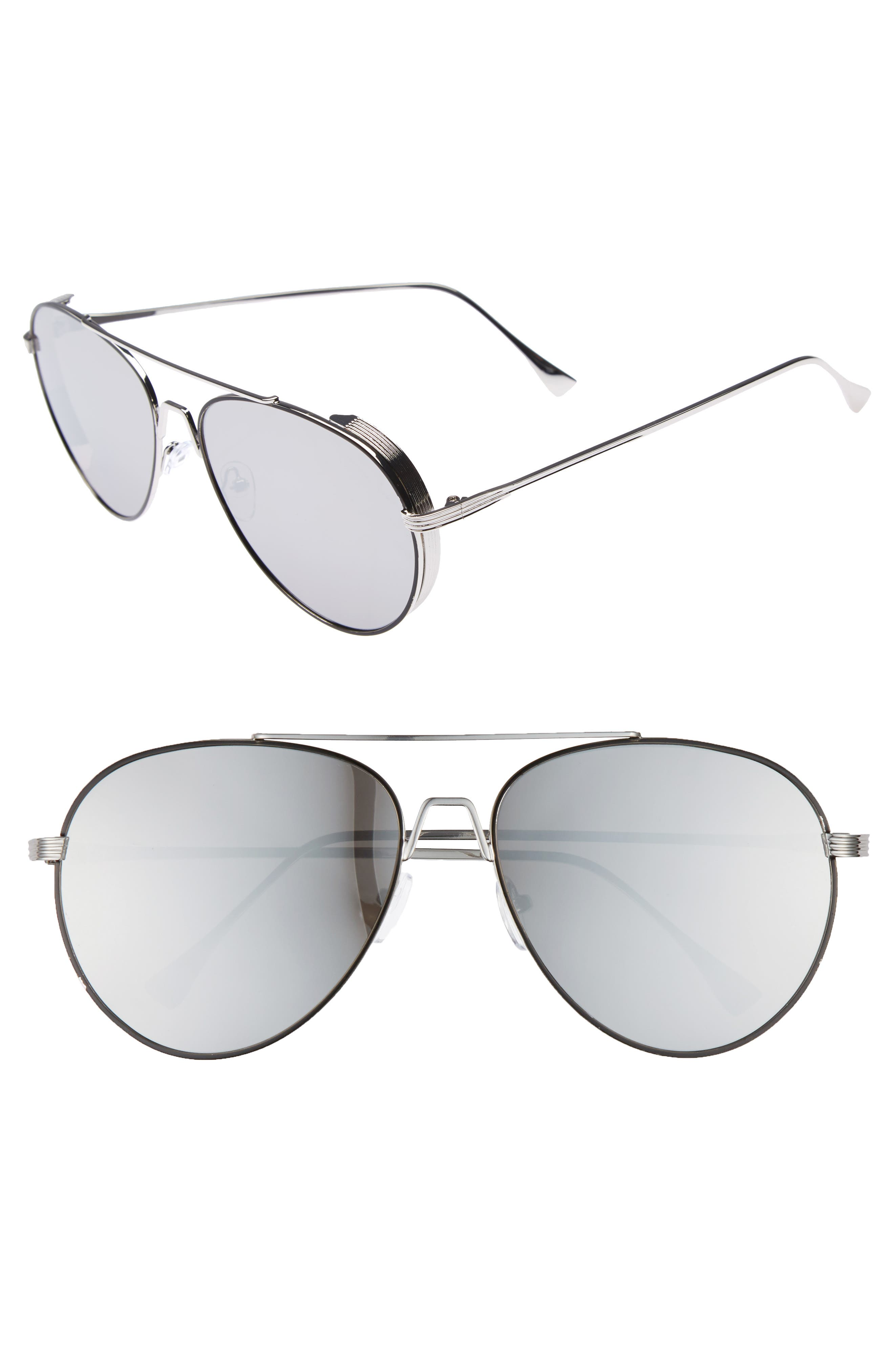 BP. 62mm Oversize Aviator Sunglasses