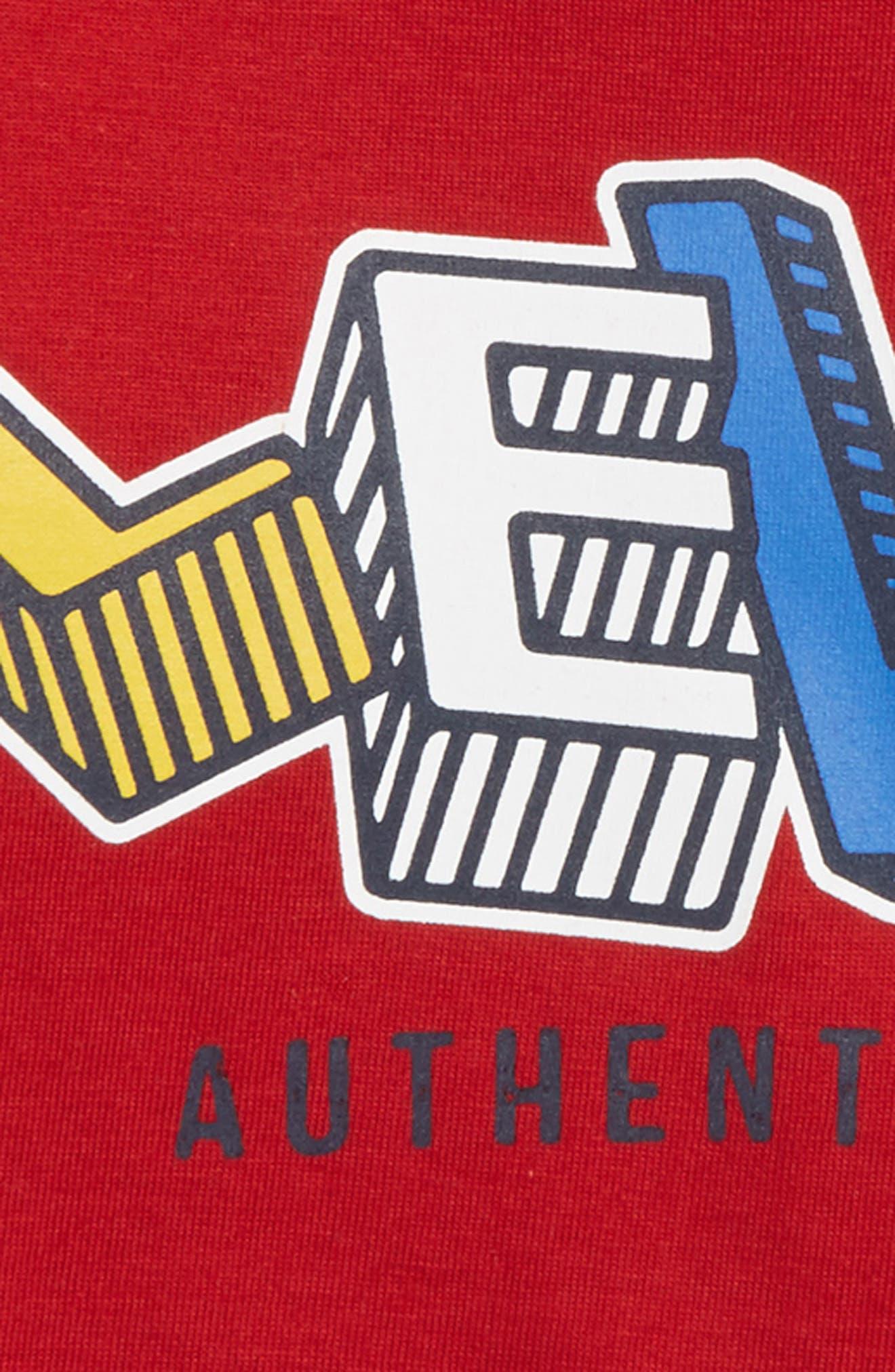 Logo Graphic T-Shirt,                             Alternate thumbnail 2, color,                             Chili Pepper