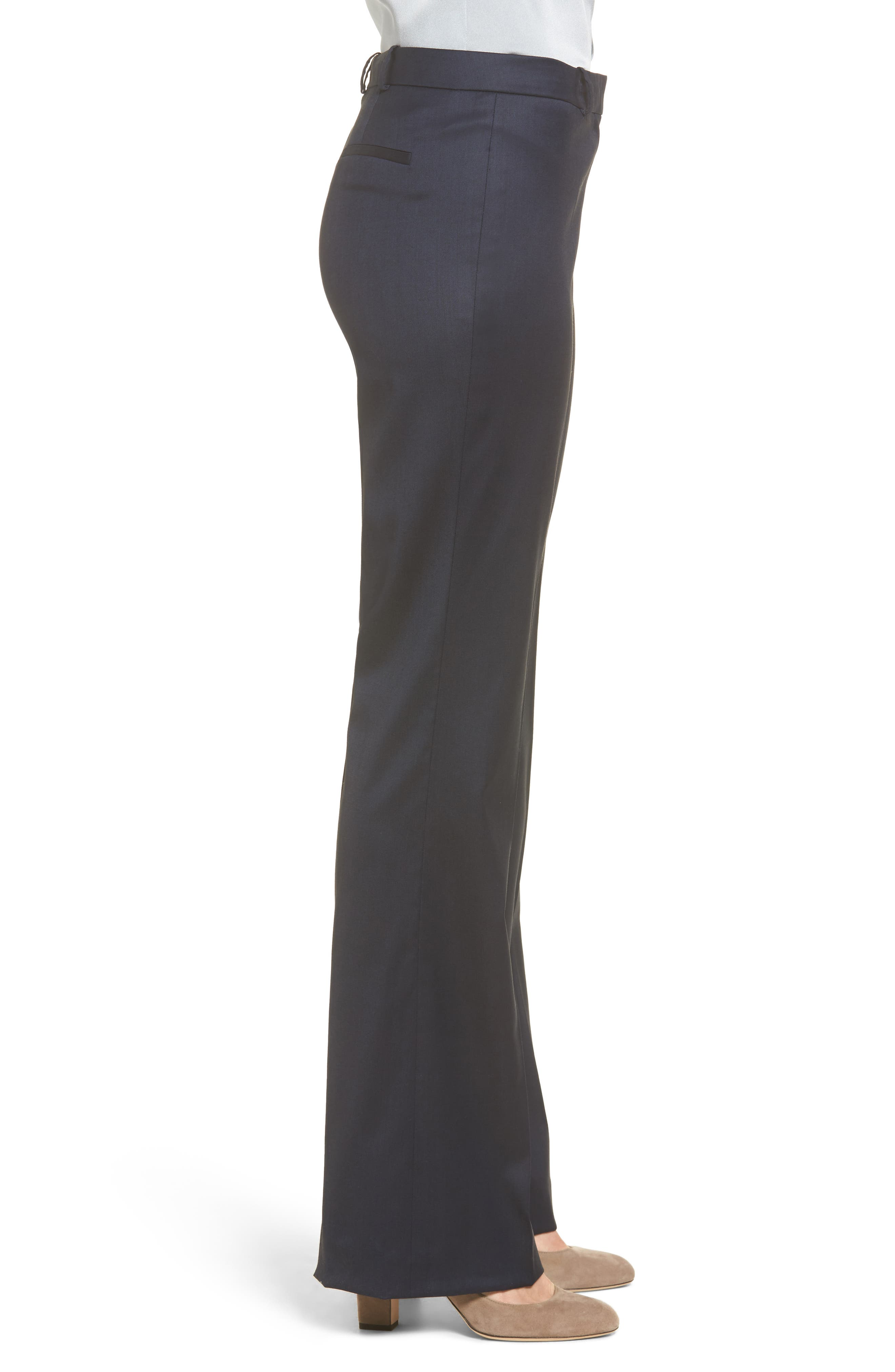Alternate Image 4  - BOSS Stretch Wool Blend Suit Trousers