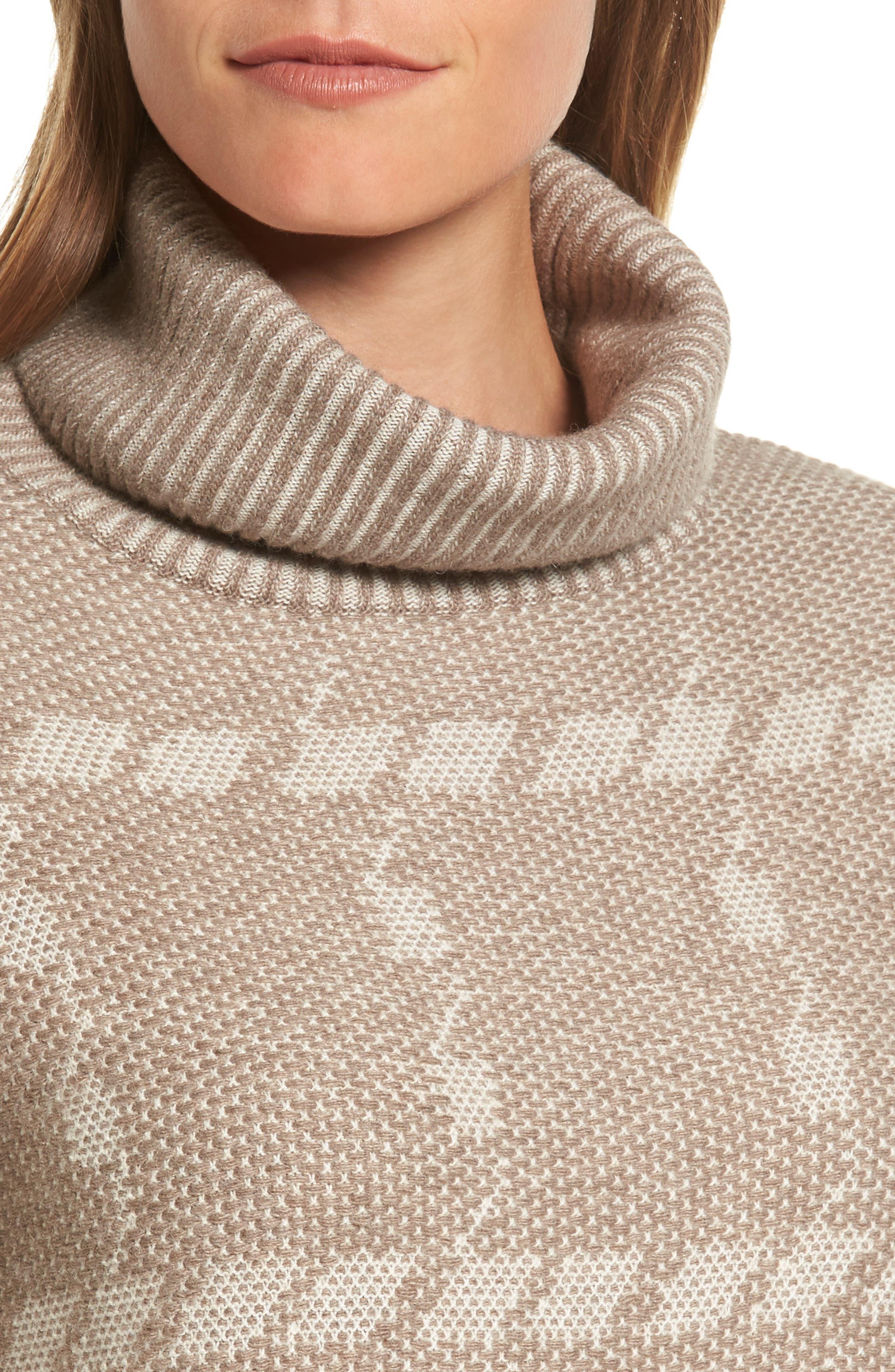 Alternate Image 4  - Barbour Glen Knit Merino Wool Blend Turtleneck Sweater