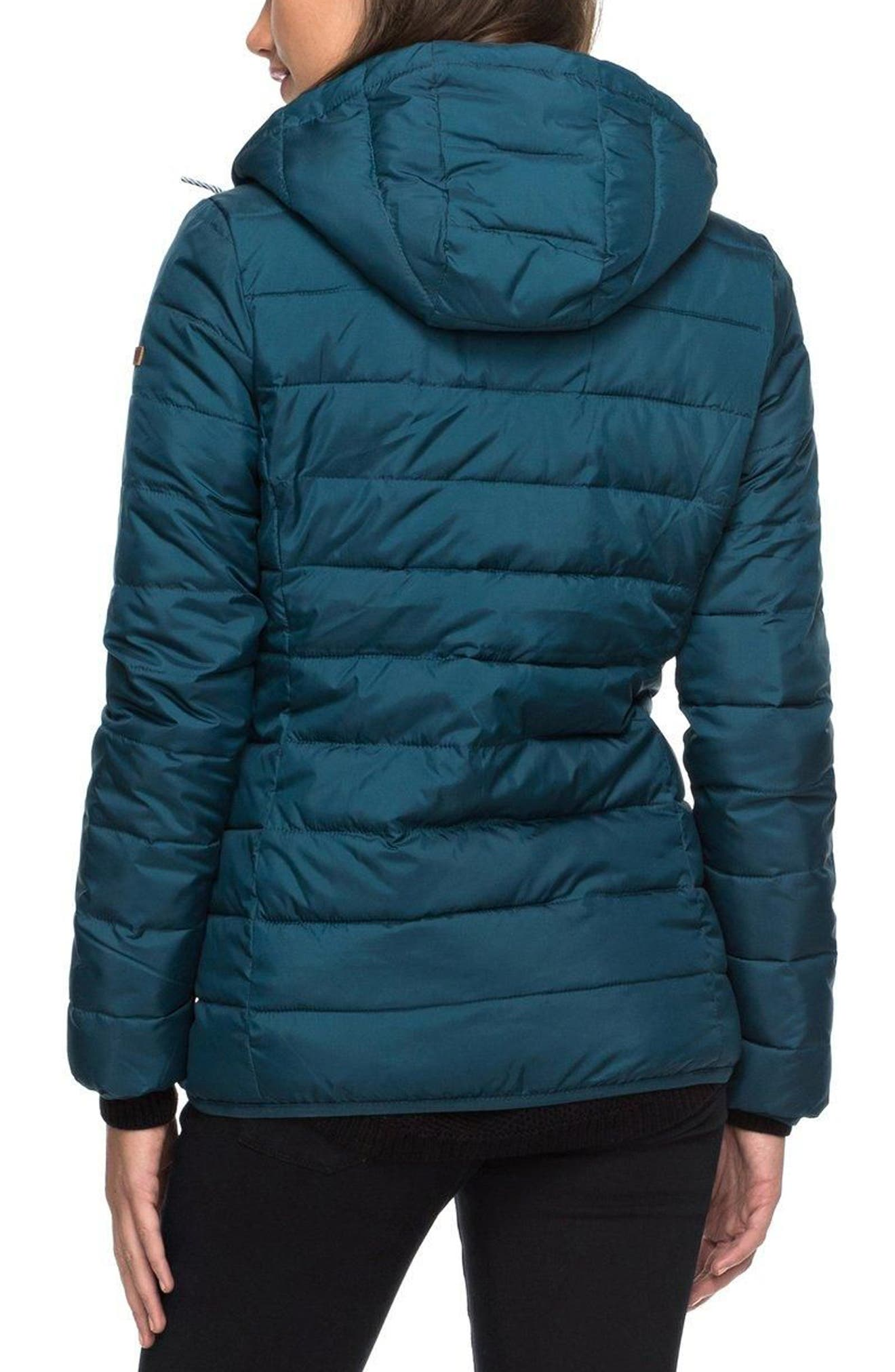 Forever Freely Puffer Jacket,                             Alternate thumbnail 3, color,                             Reflecting Pond
