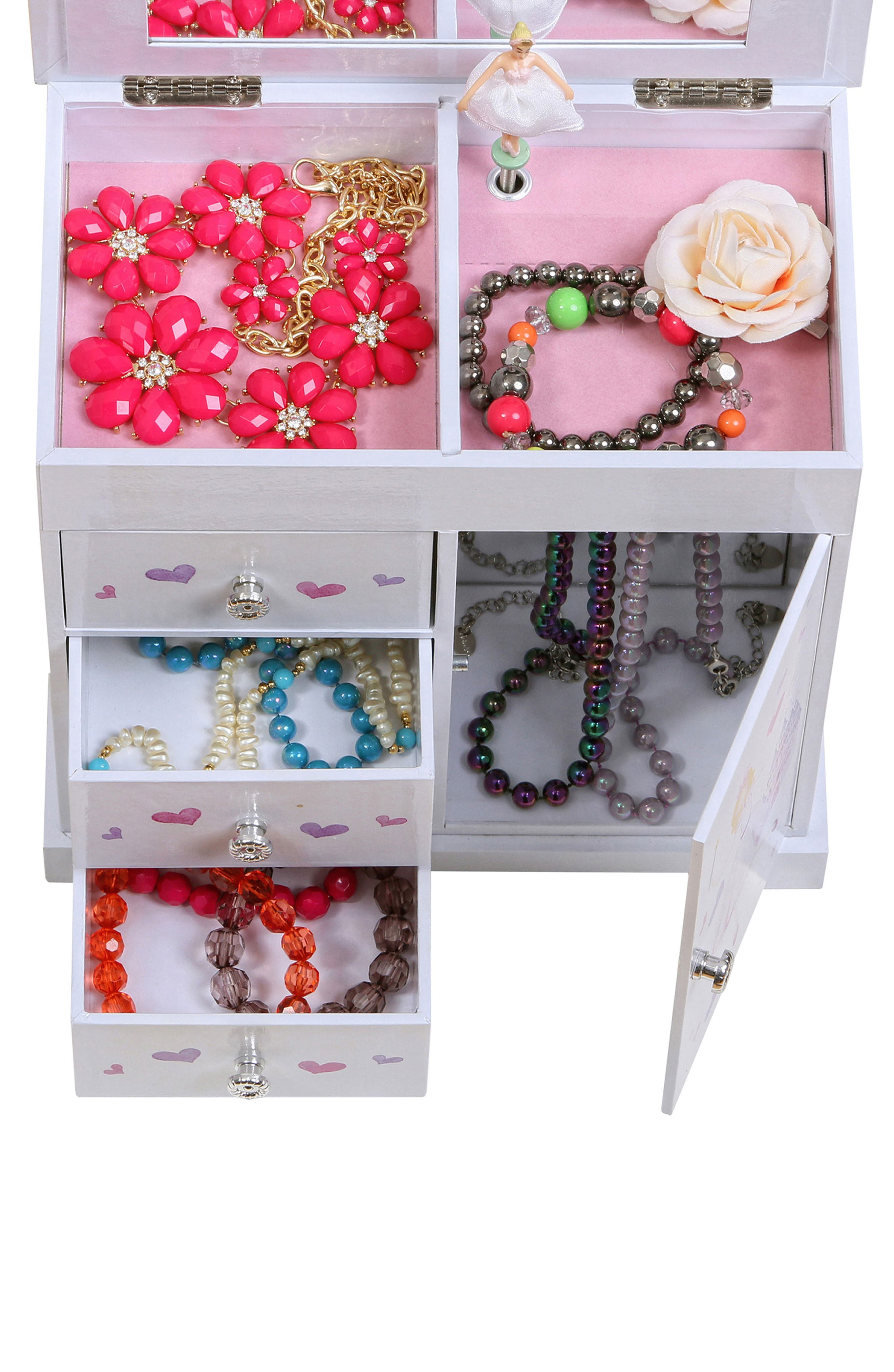 Alternate Image 7  - Mele & Co. Adalyn Musical Jewelry Box (Girls)