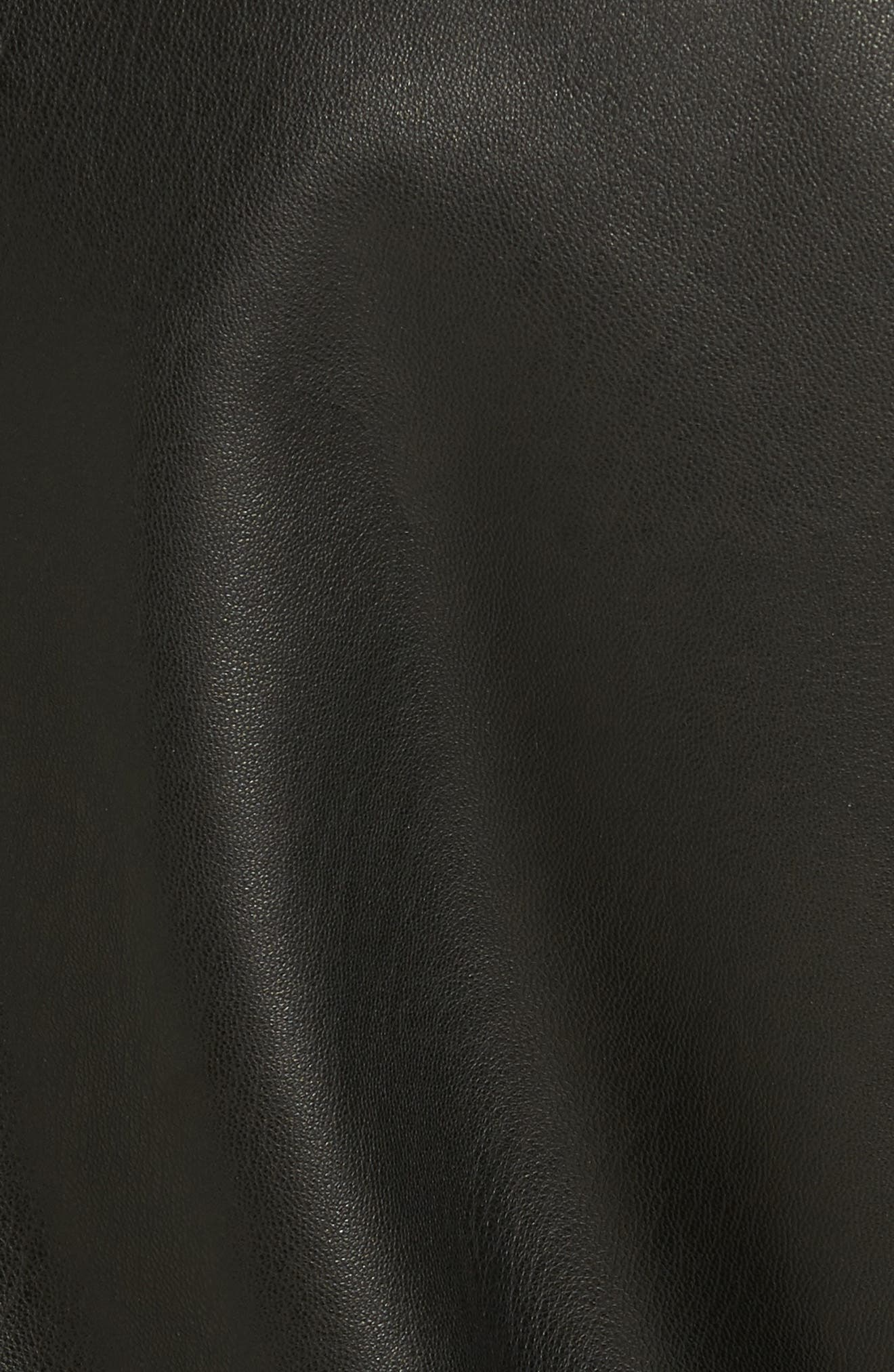 Alternate Image 5  - Cole Haan Faux Leather Jacket