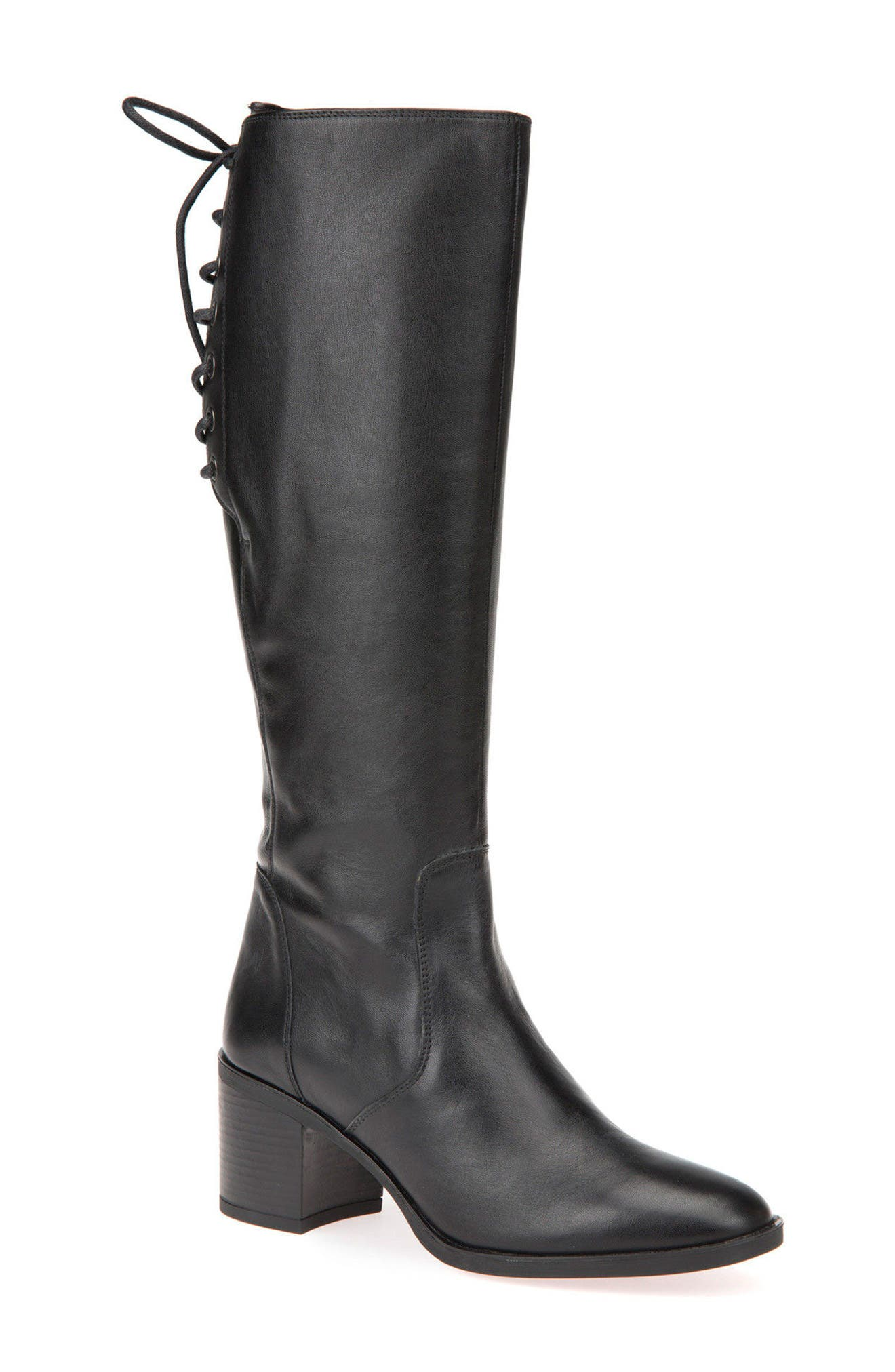 Alternate Image 1 Selected - Geox Glynna Knee High Boot (Women)
