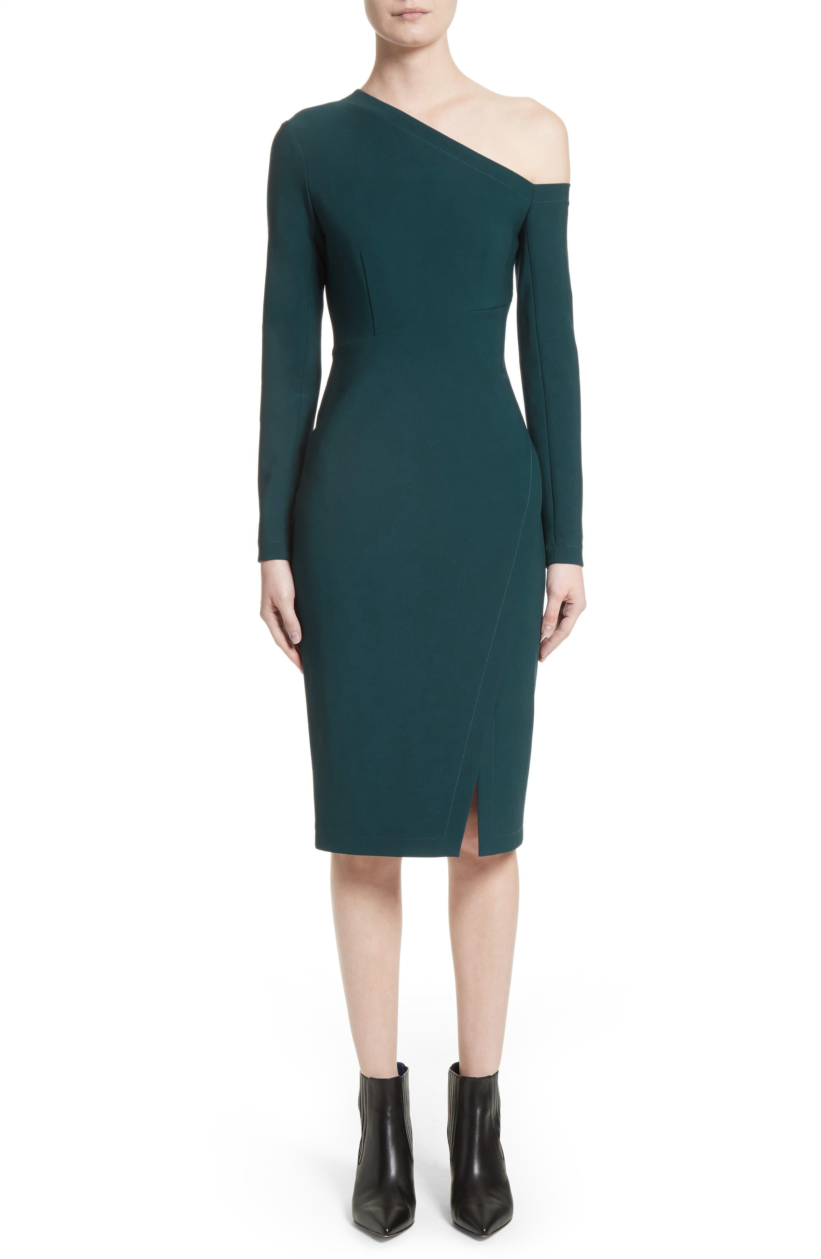 Yigal Azrouël One-Shoulder Dress