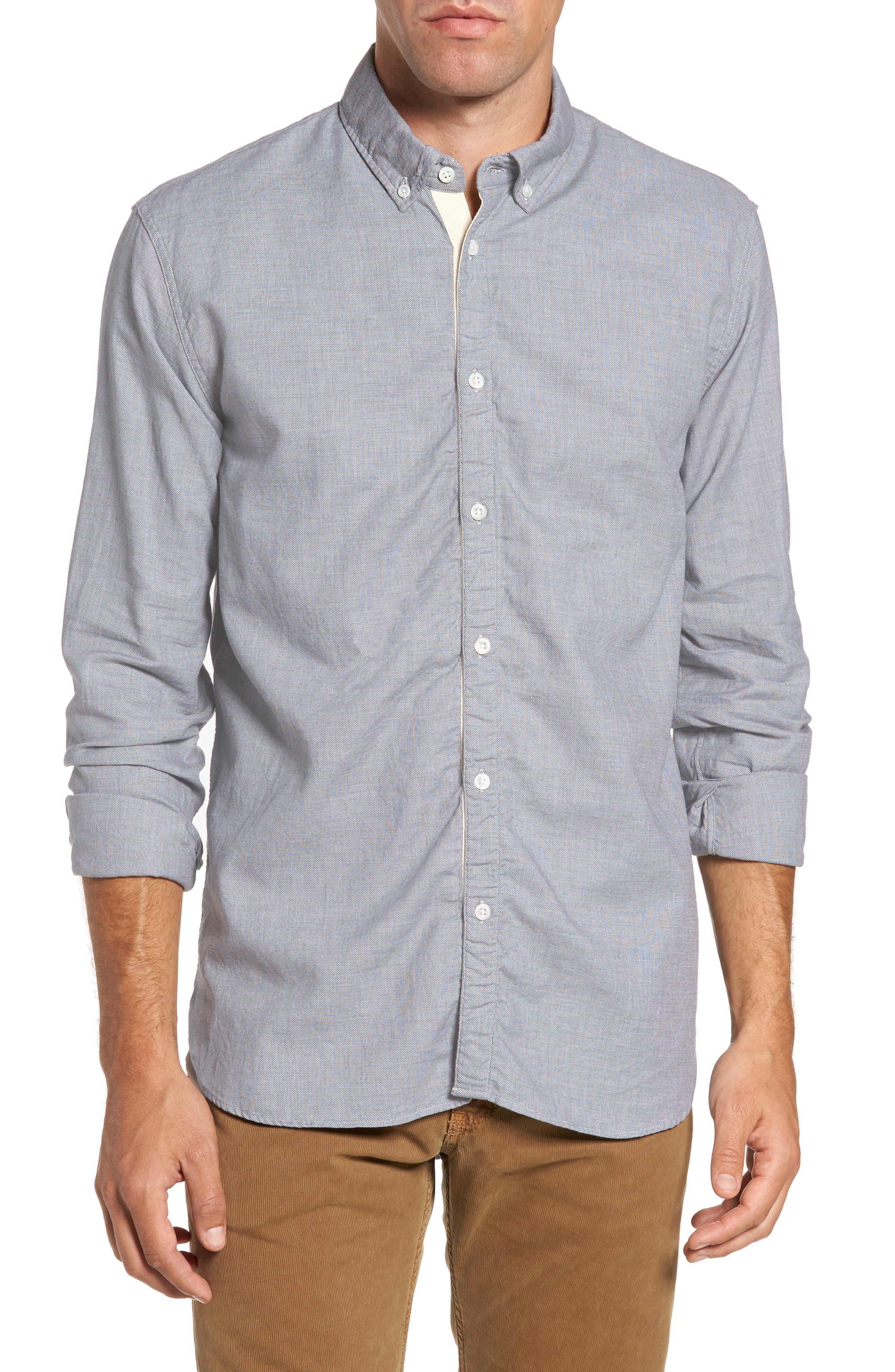 Main Image - Billy Reid Irvine Standard Fit Sport Shirt