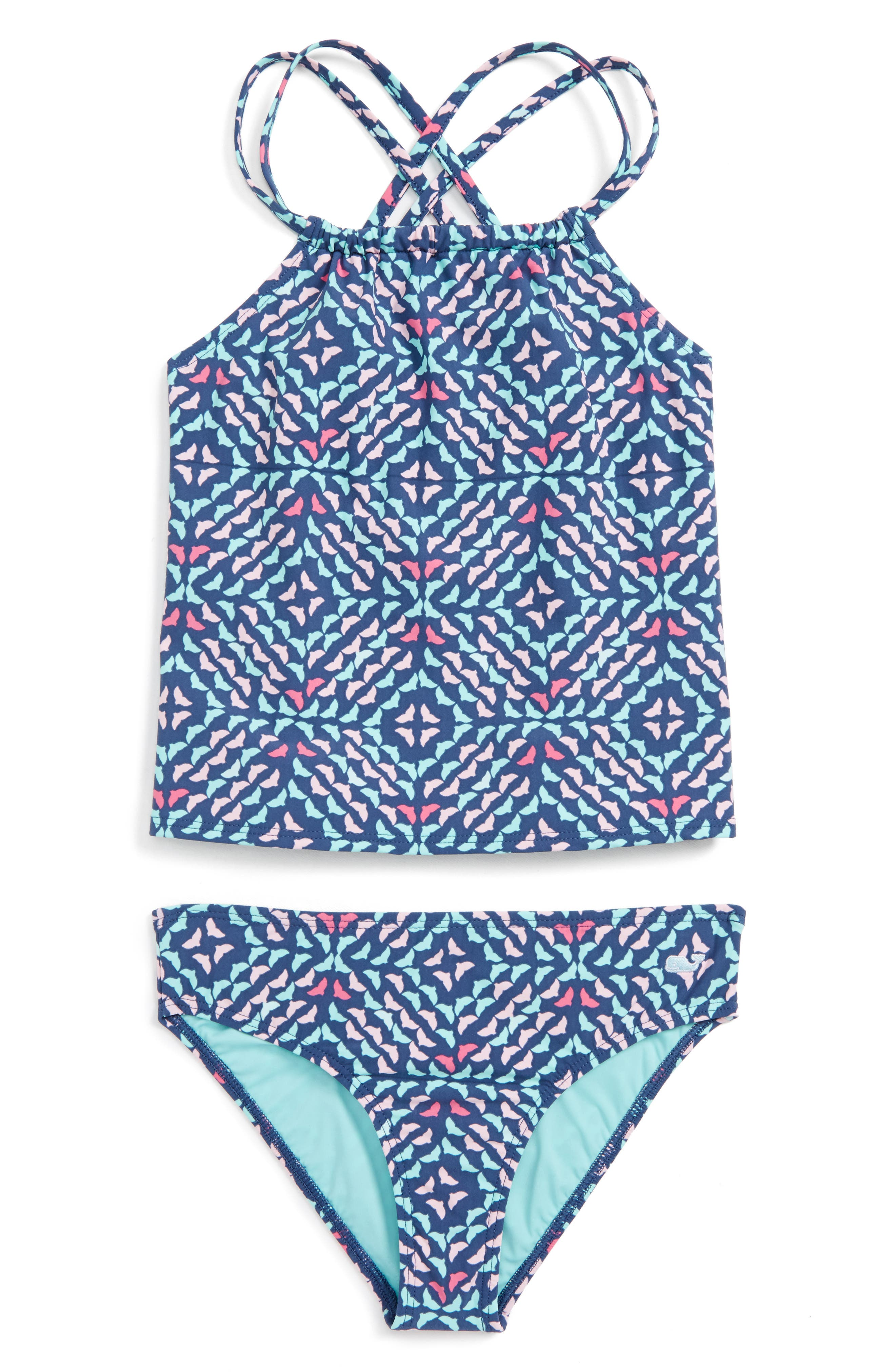 Vineyard Vines Whale Tail Two-Piece Swimsuit (Toddler Girls)