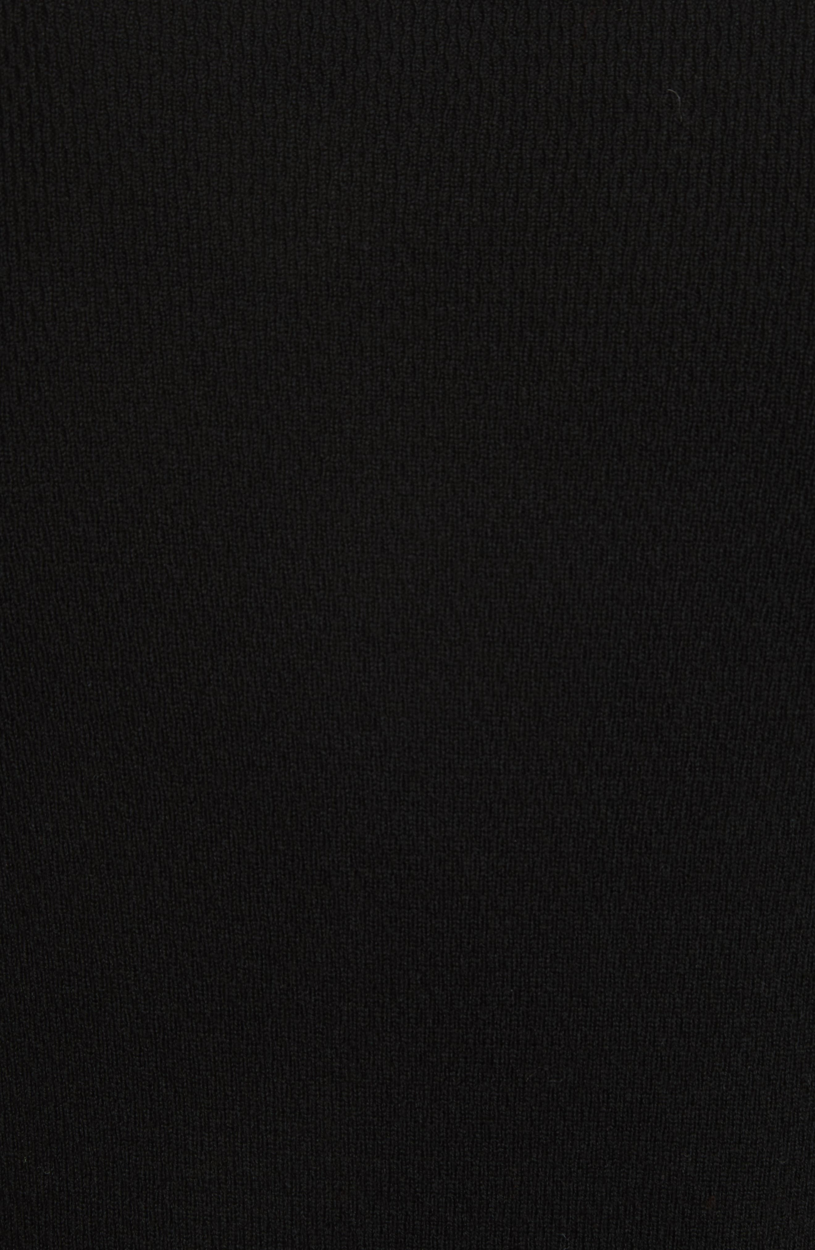 Gregory Crewneck Sweater,                             Alternate thumbnail 5, color,                             Black