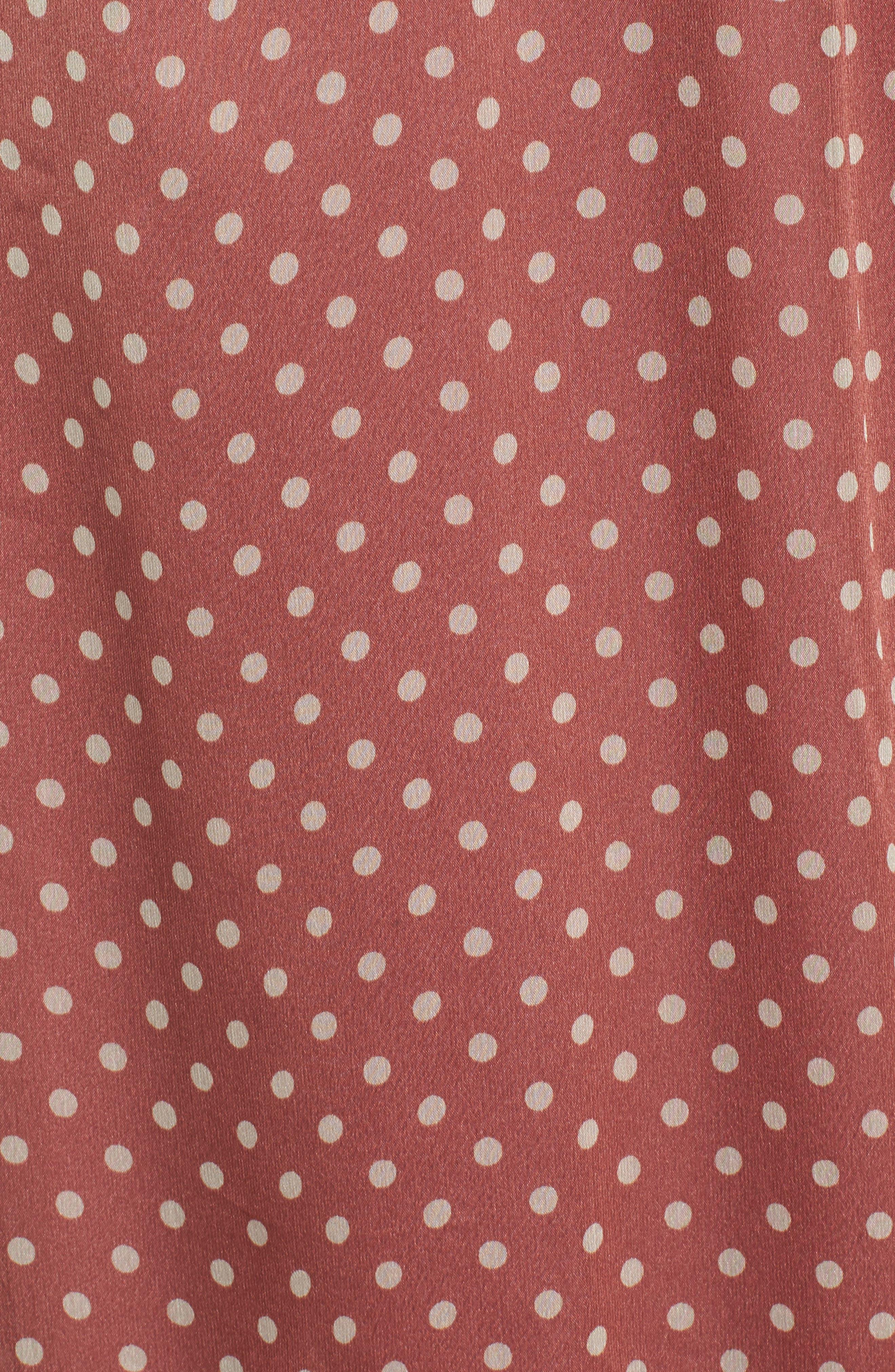 Alternate Image 6  - MOON RIVER Ruffle Midi Dress