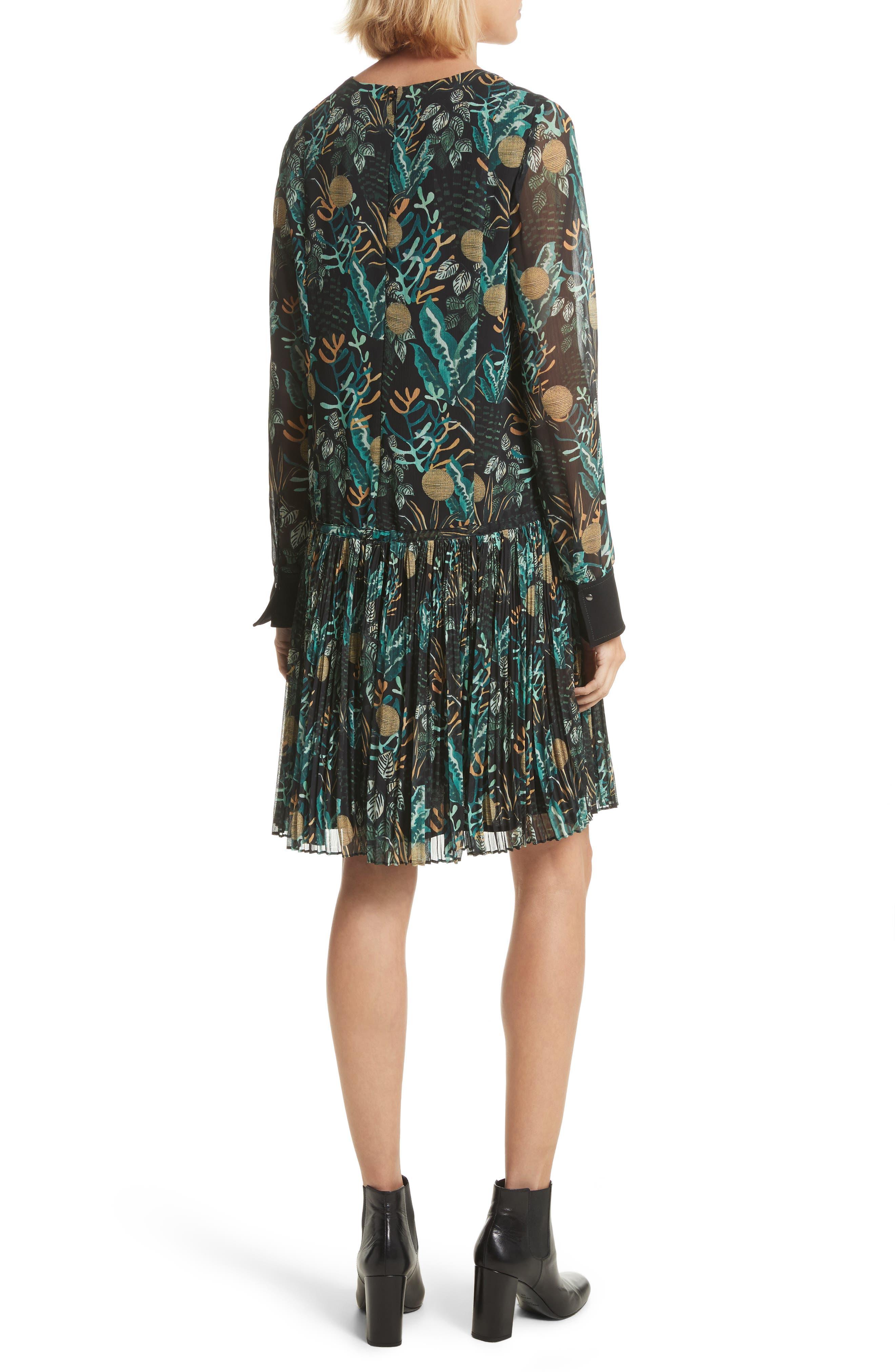 Alternate Image 2  - GREY Jason Wu Print Drop Waist Drawstring Dress