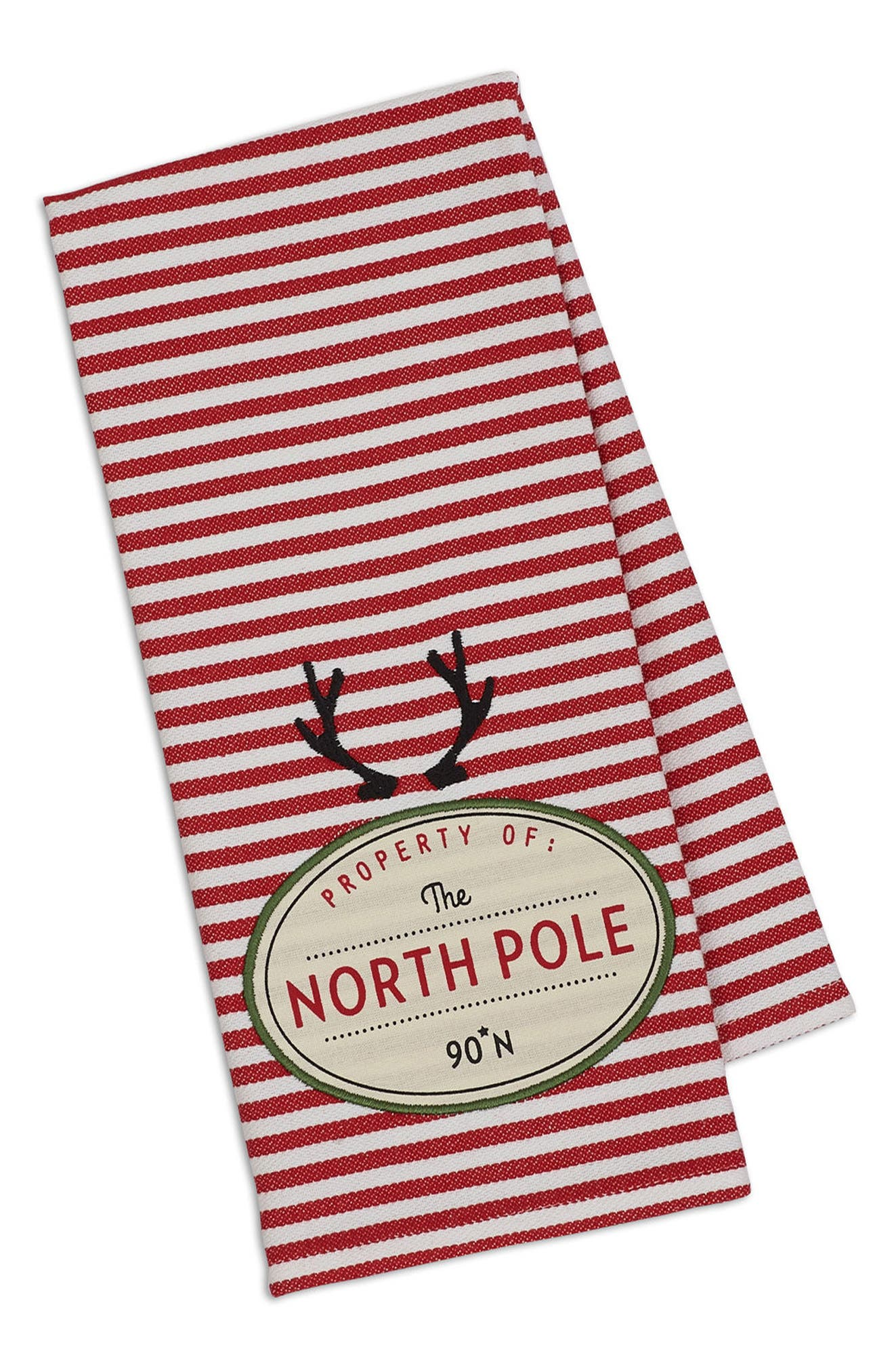 Alternate Image 1 Selected - Design Imports North Pole Dish Towel