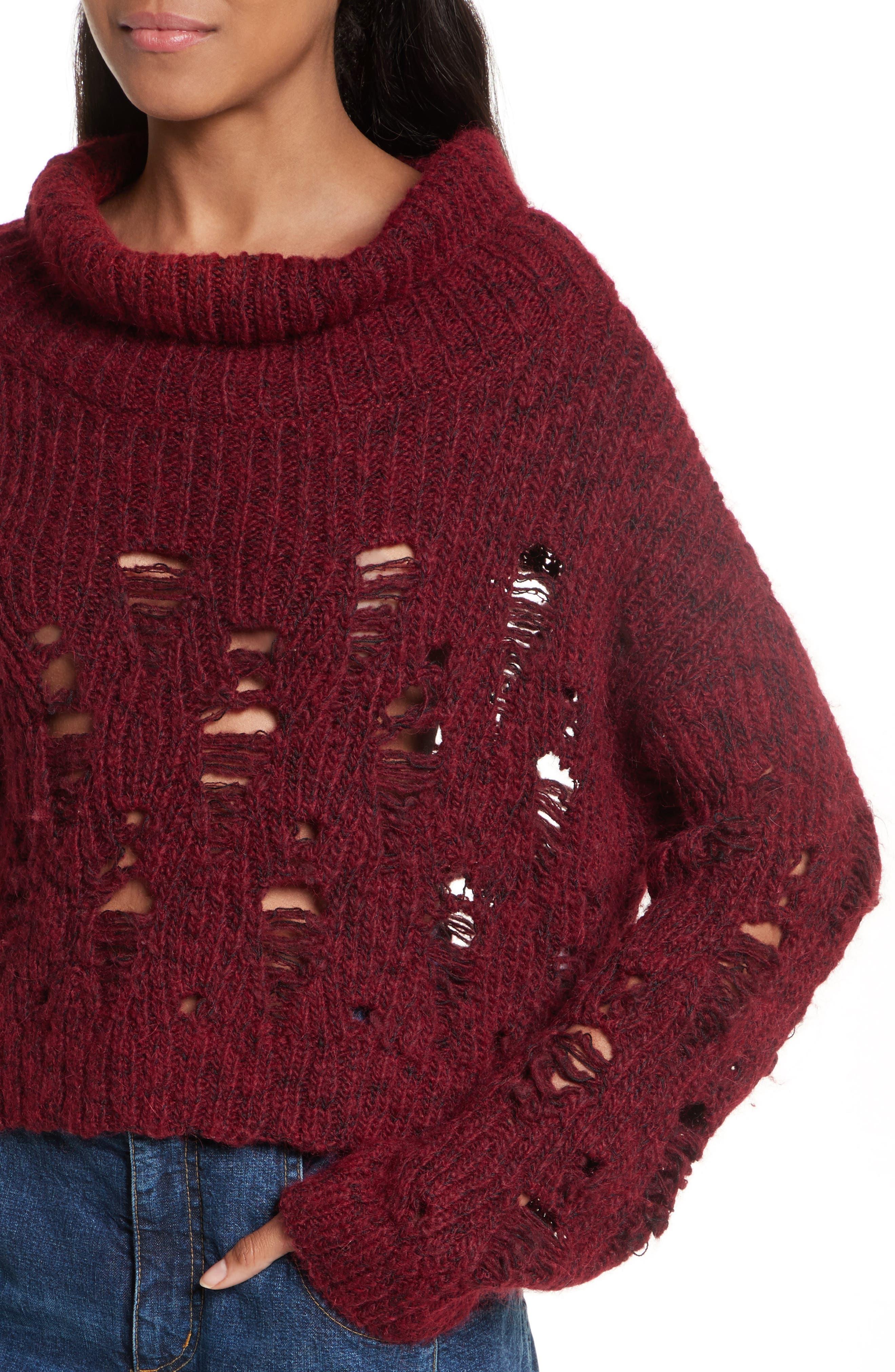 Alternate Image 3  - Rachel Comey Tigris Crop Turtleneck Sweater