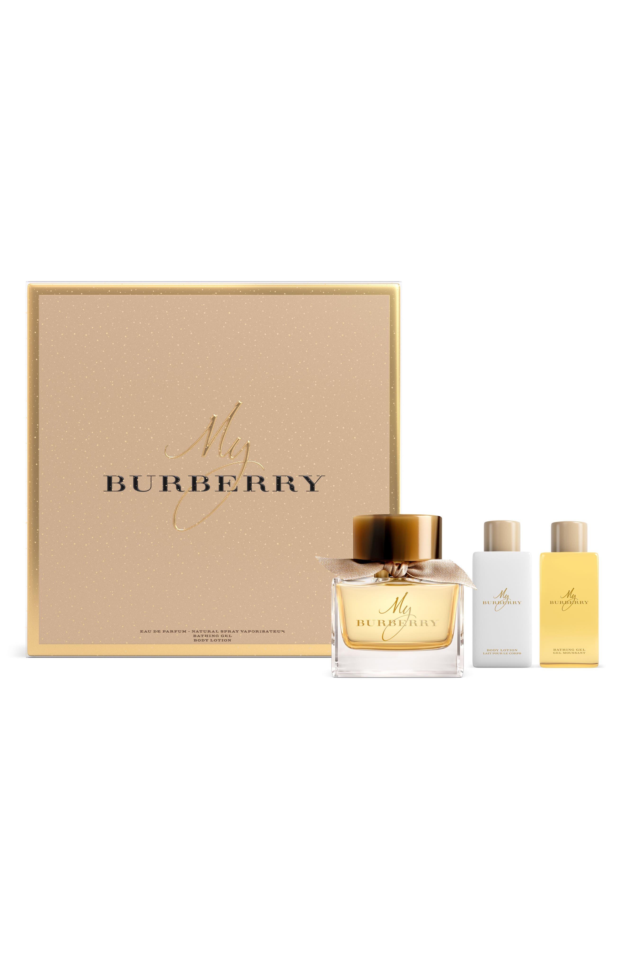 My Burberry Eau de Parfum Set,                             Main thumbnail 1, color,                             No Color
