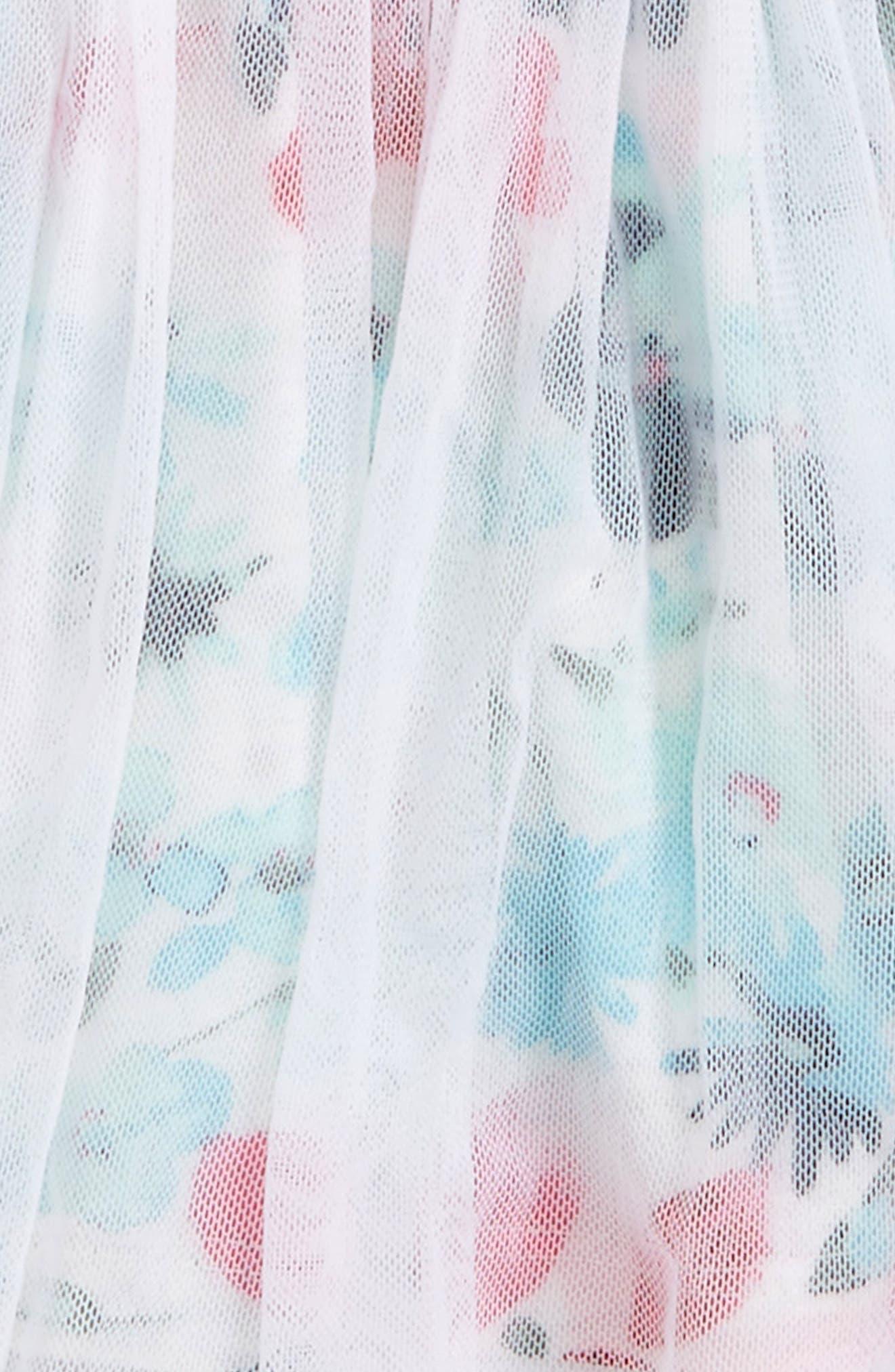 Alternate Image 2  - Splendid Floral Print Tutu Skort (Toddler Girls)