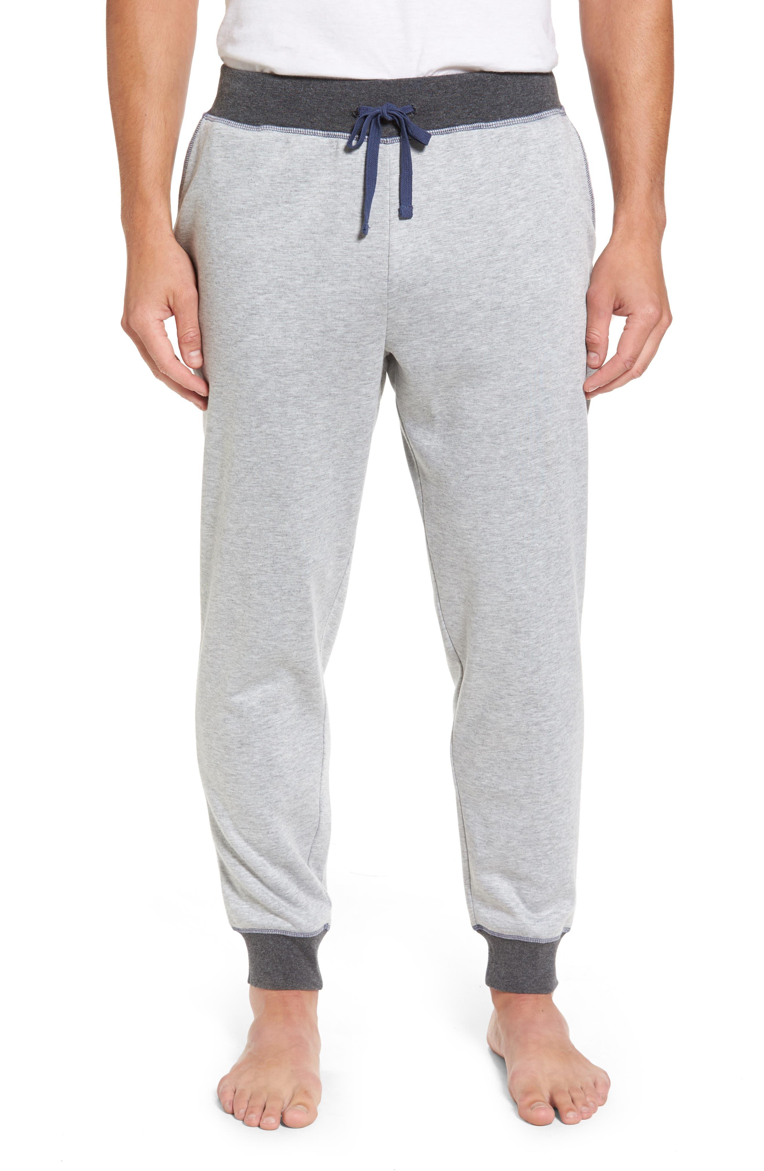 Double Take Knit Lounge Pants,                             Main thumbnail 1, color,                             Grey