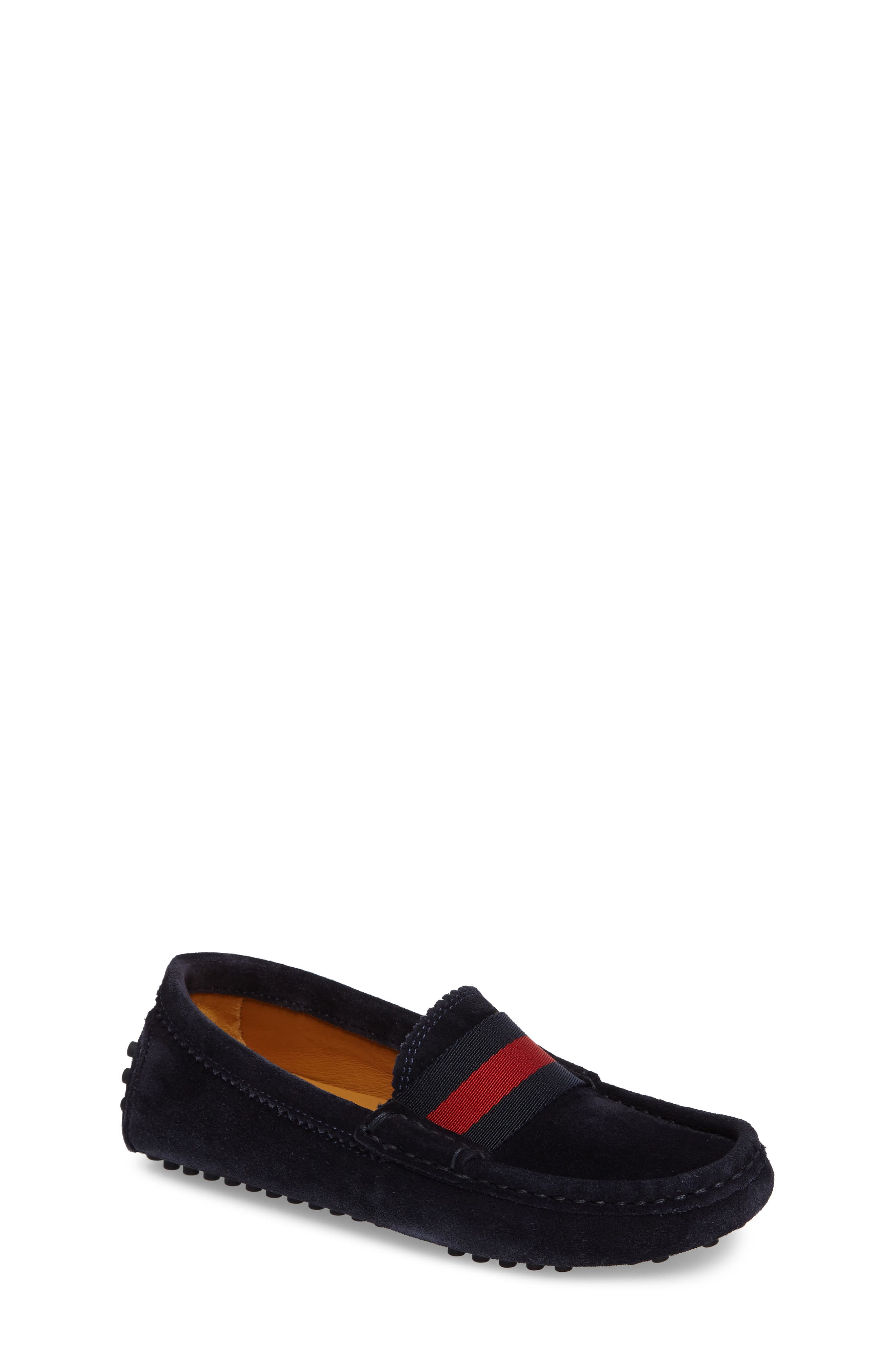 Alternate Image 1 Selected - Gucci Dandy Junior Driving Shoe (Toddler & Little Kid)