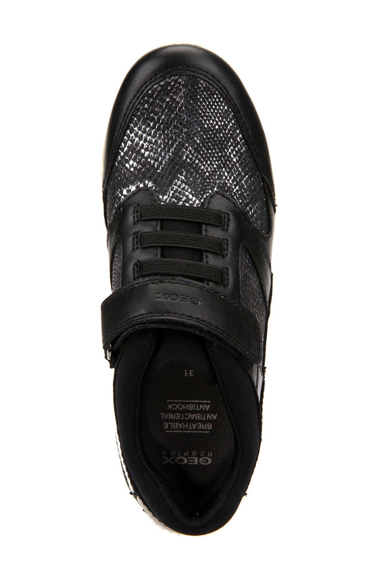 Sukie Sneaker,                             Alternate thumbnail 5, color,                             Black