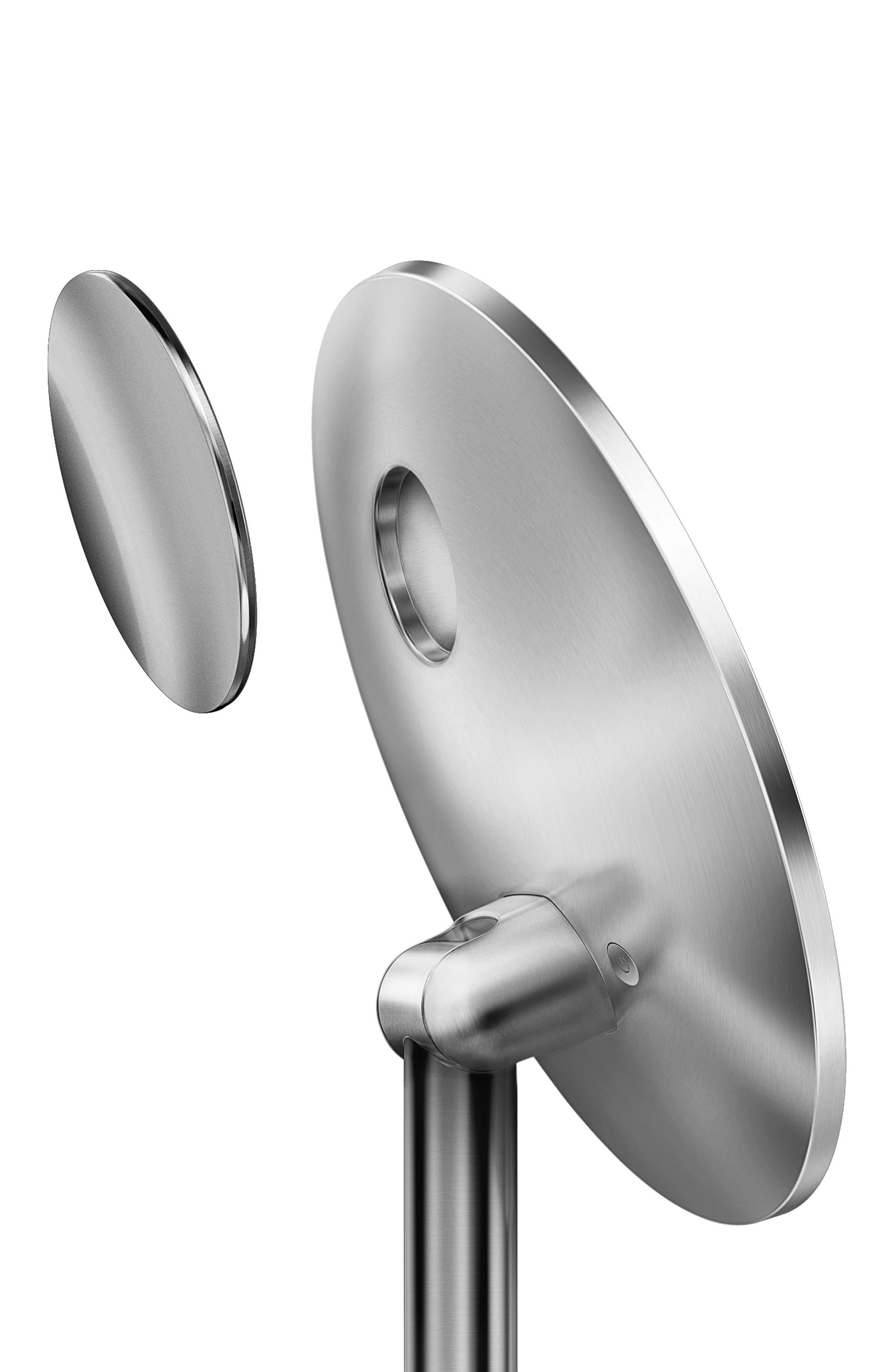 Round Sensor Mirror Pro,                             Alternate thumbnail 3, color,                             Stainless Steel