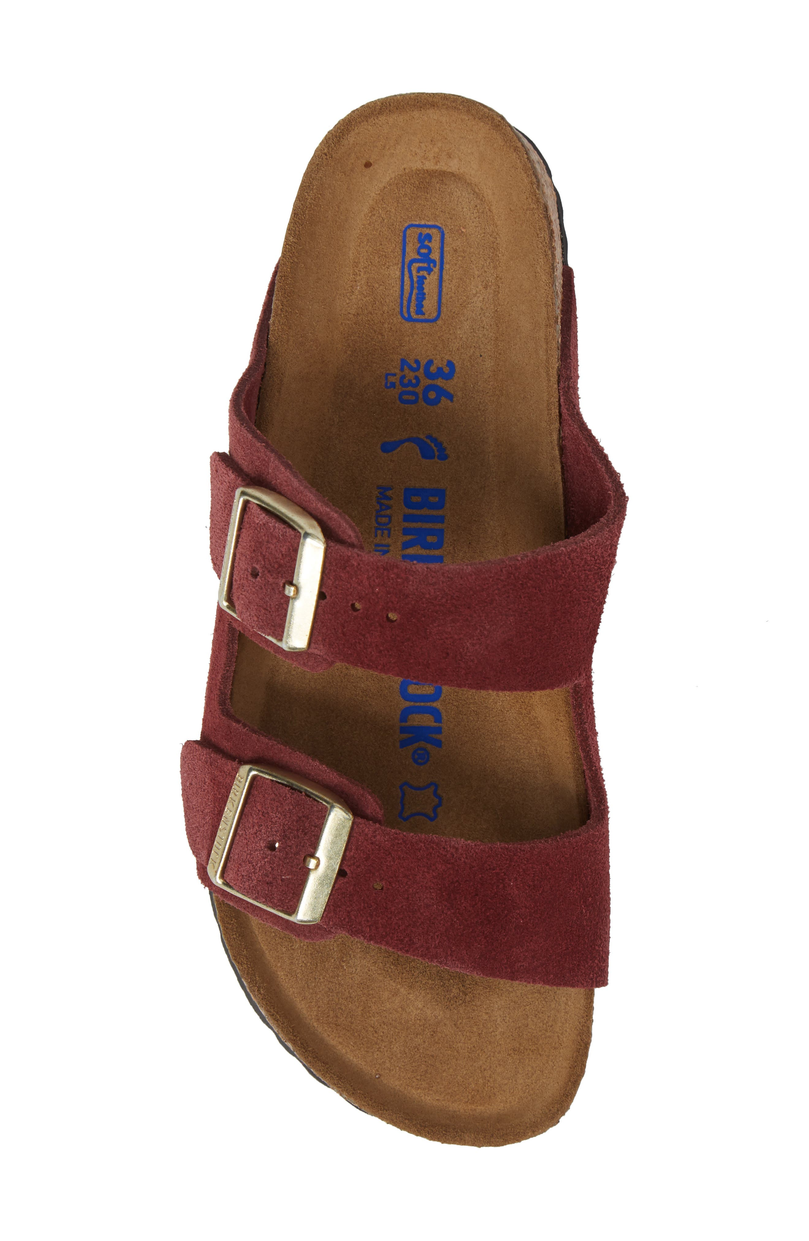 Alternate Image 5  - Birkenstock 'Arizona' Soft Footbed Suede Sandal (Women)