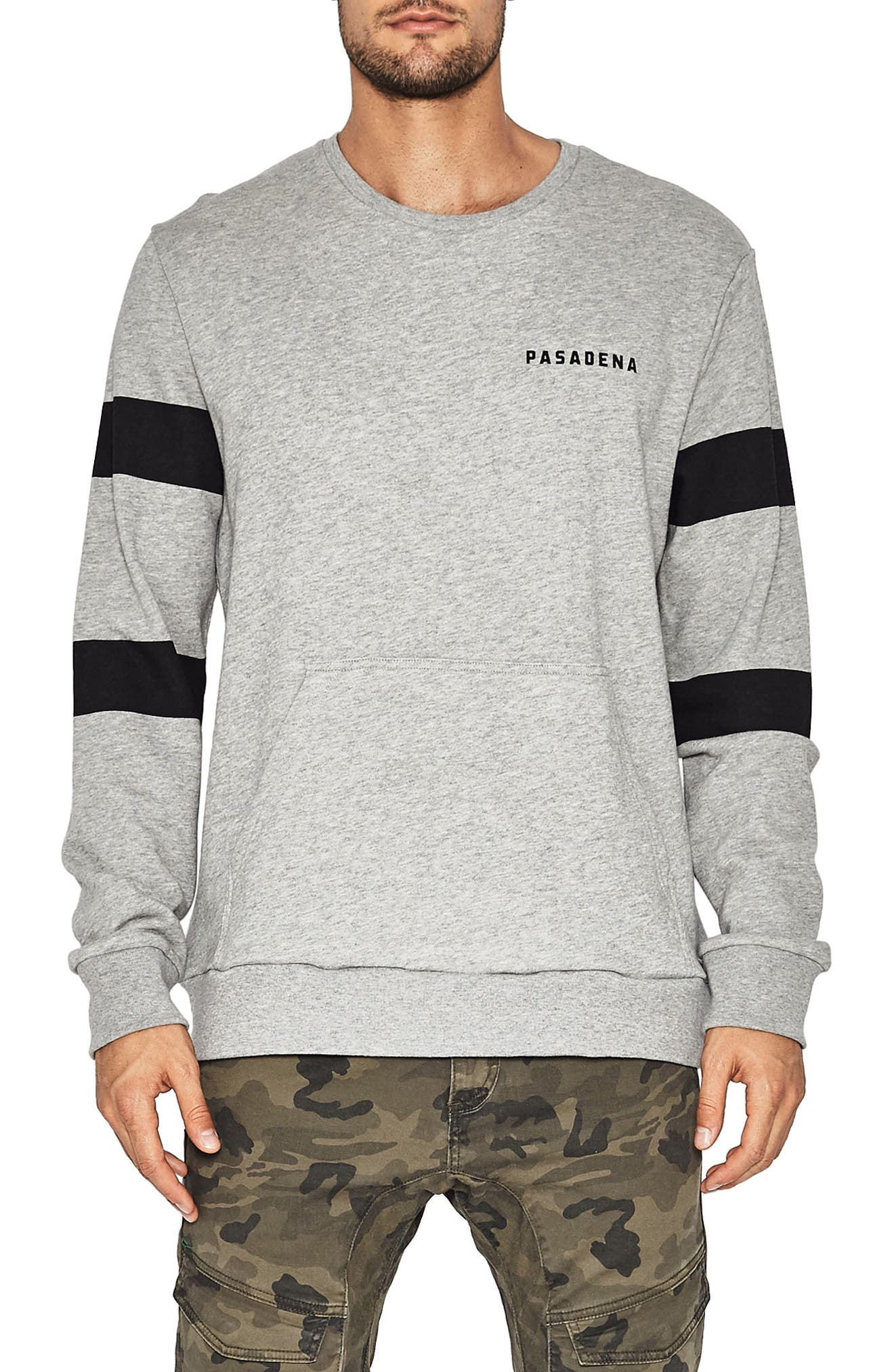 Turbo Hawk Sweatshirt,                         Main,                         color, Grey Marle