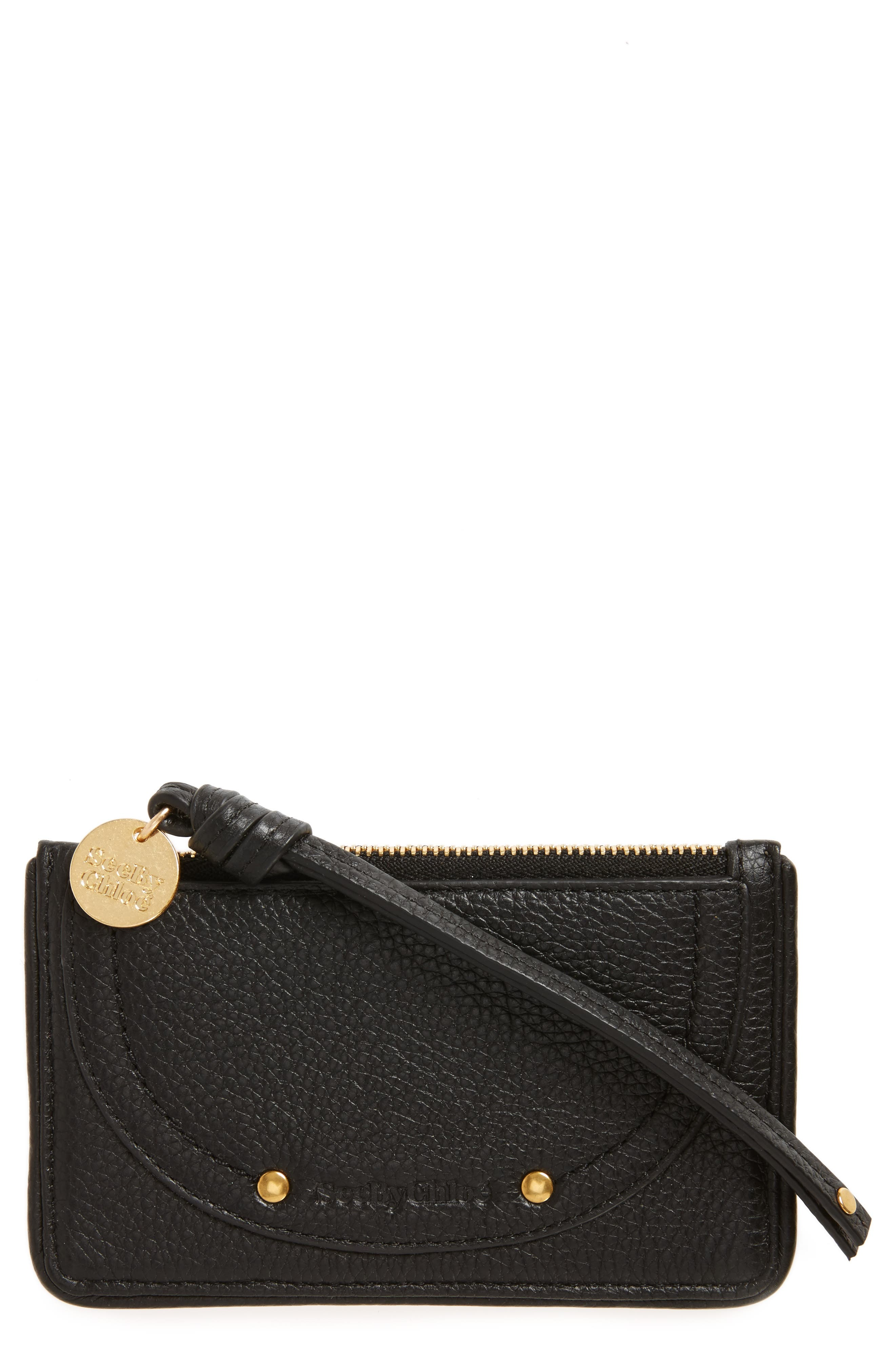 SEE BY CHLOÉ Leather Card Holder