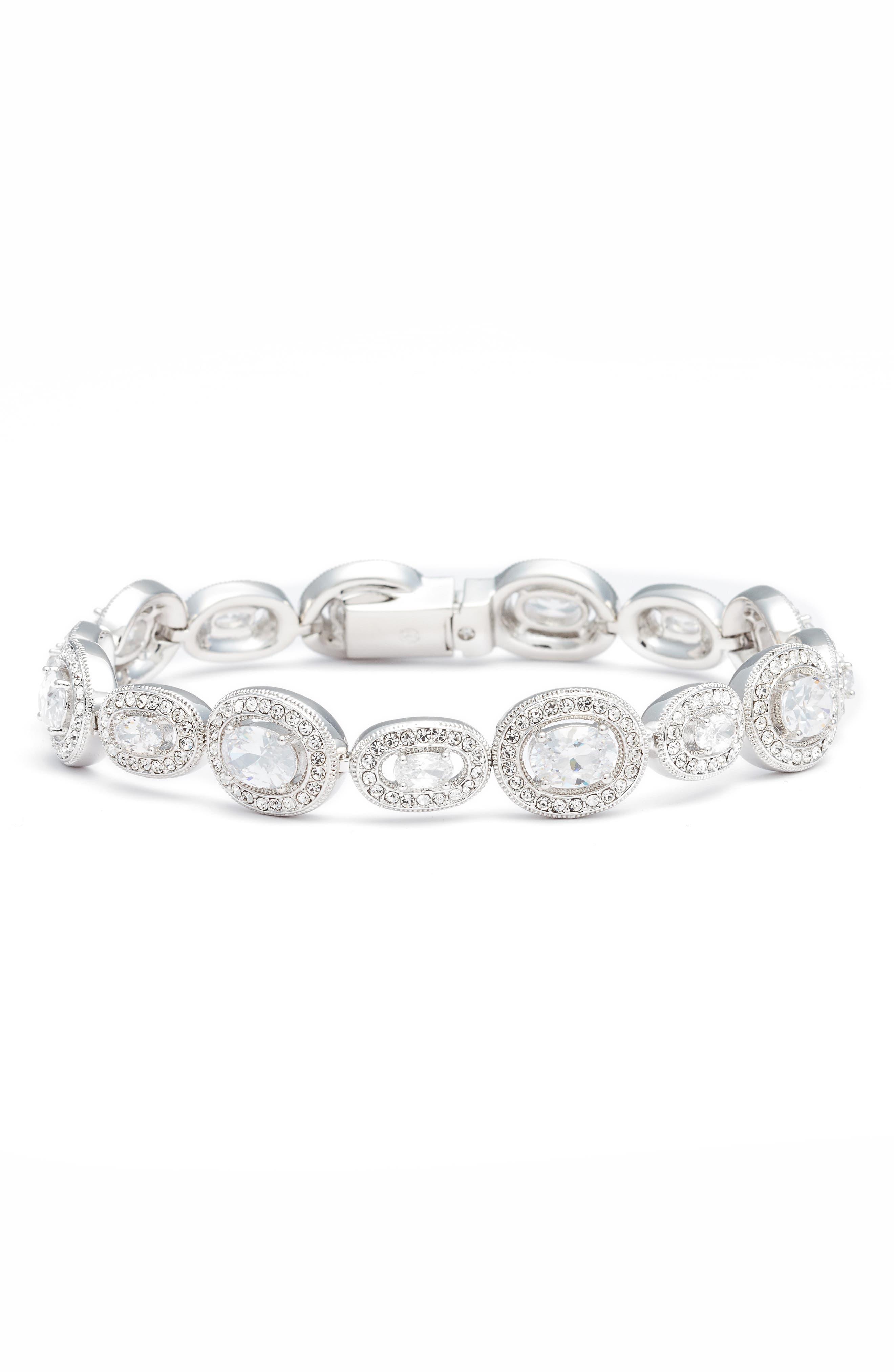 Marina Line Bracelet,                         Main,                         color, Silver