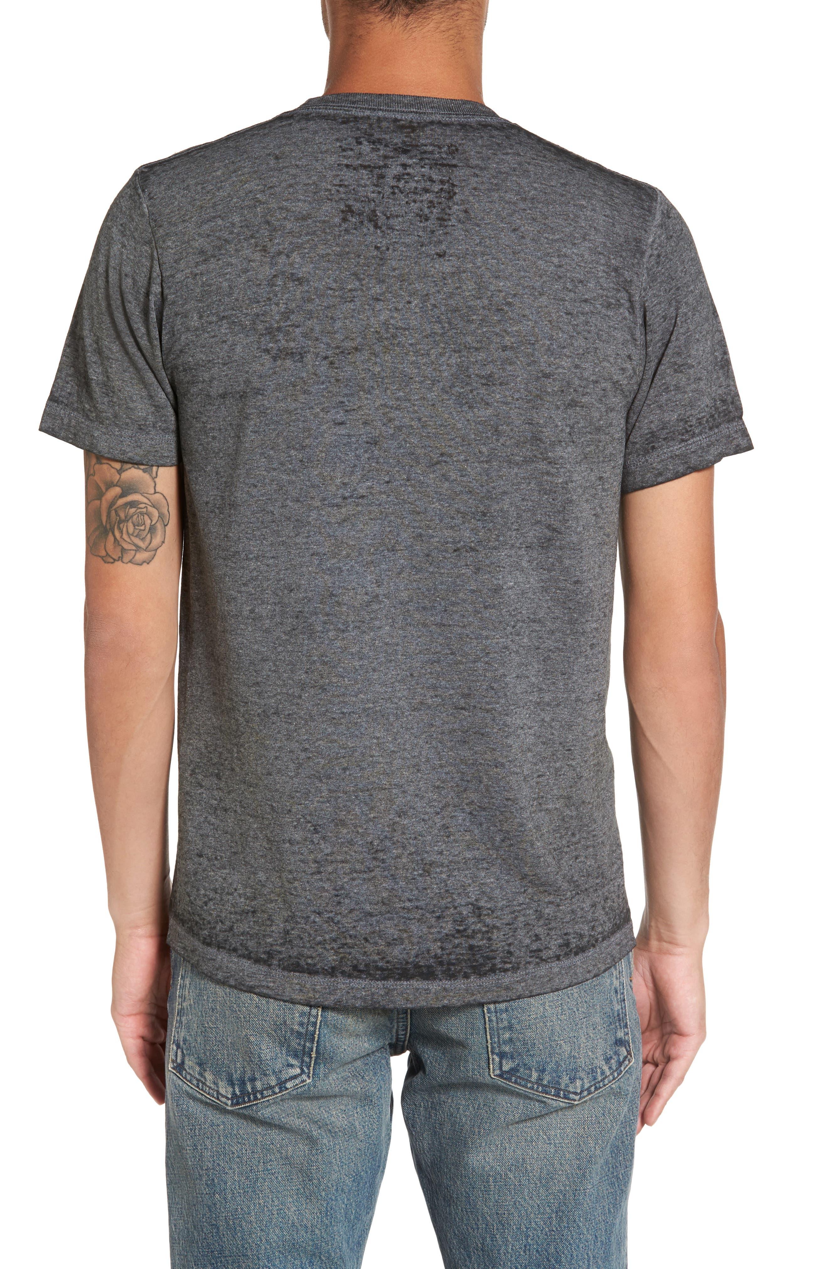 Burnout Graphic T-Shirt,                             Alternate thumbnail 2, color,                             Black The Godfather
