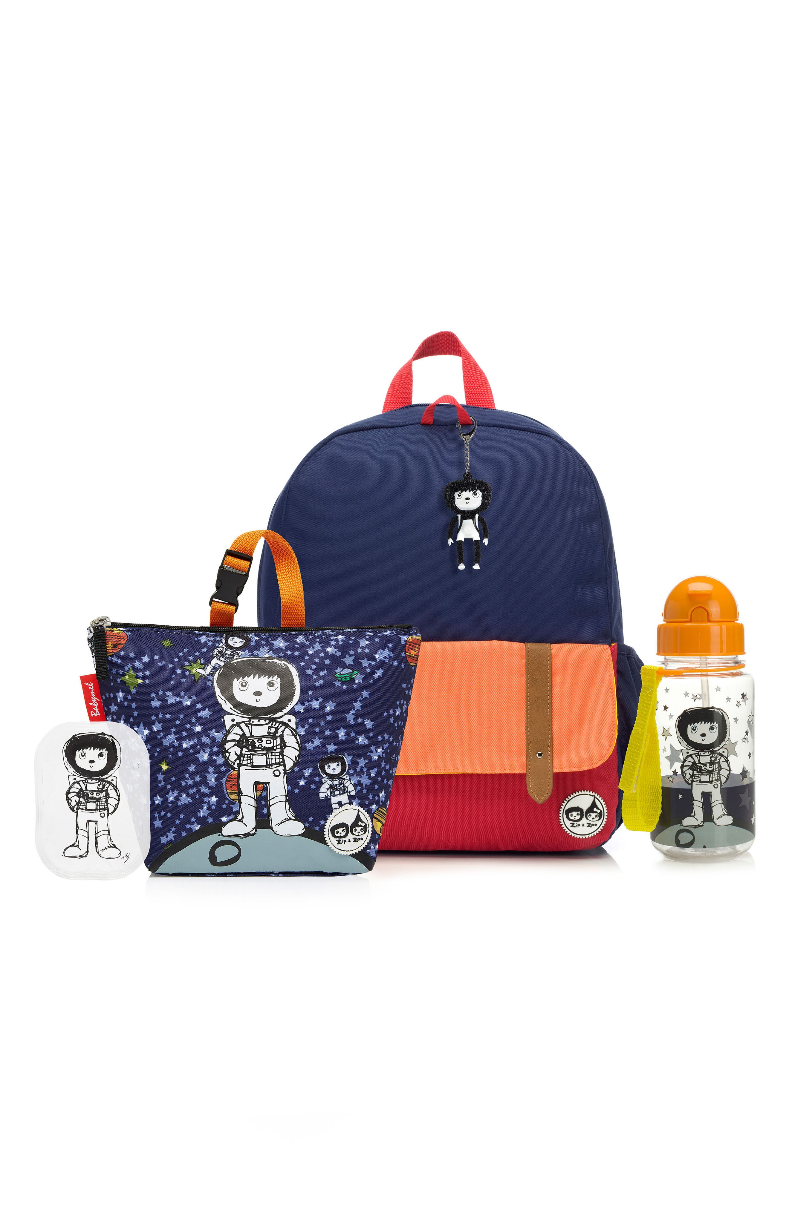 Alternate Image 1 Selected - Babymel Zip & Zoe Junior Backpack Set