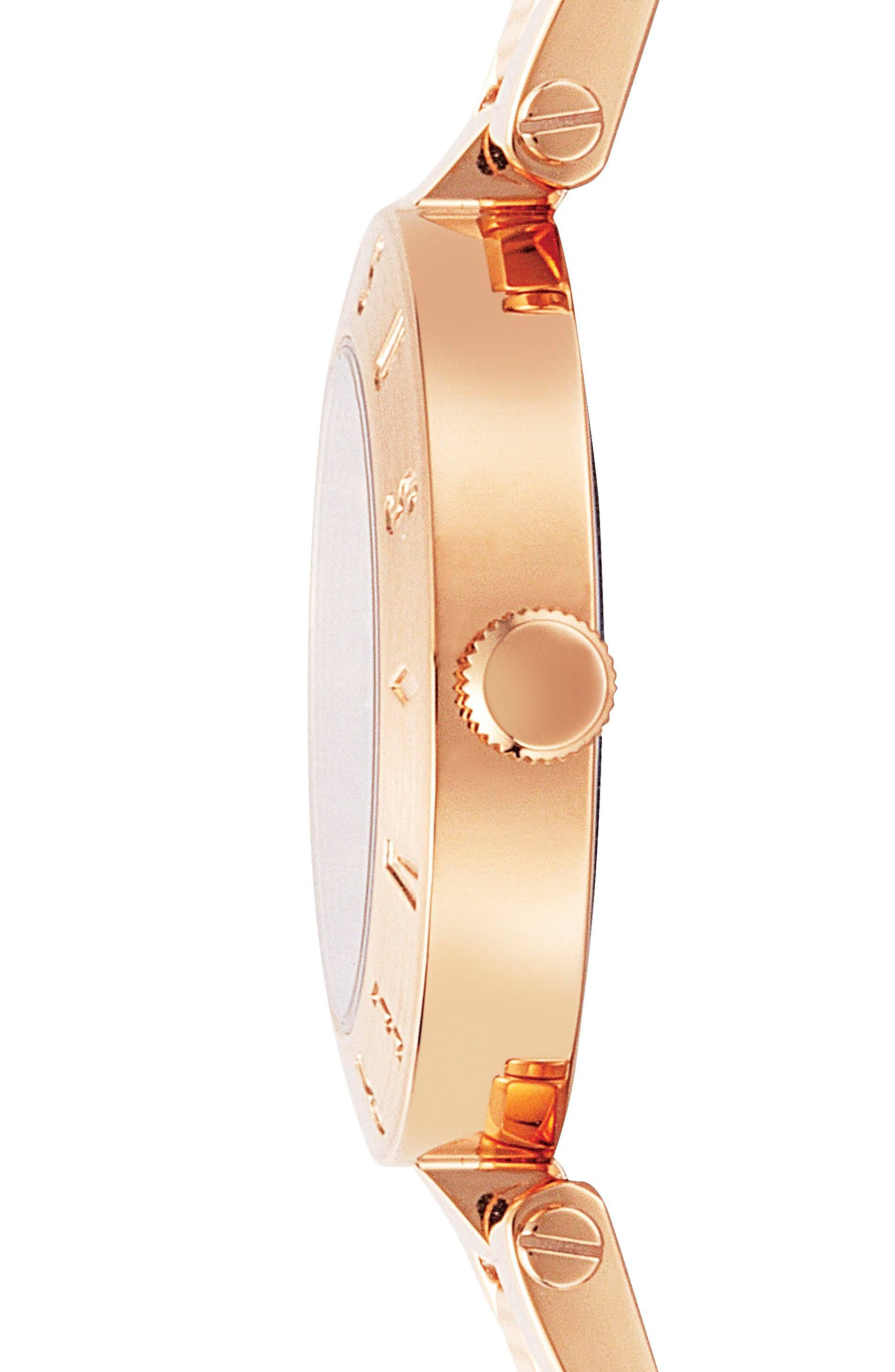 Alternate Image 2  - Versus by Versace New Logo Bracelet Watch, 34mm