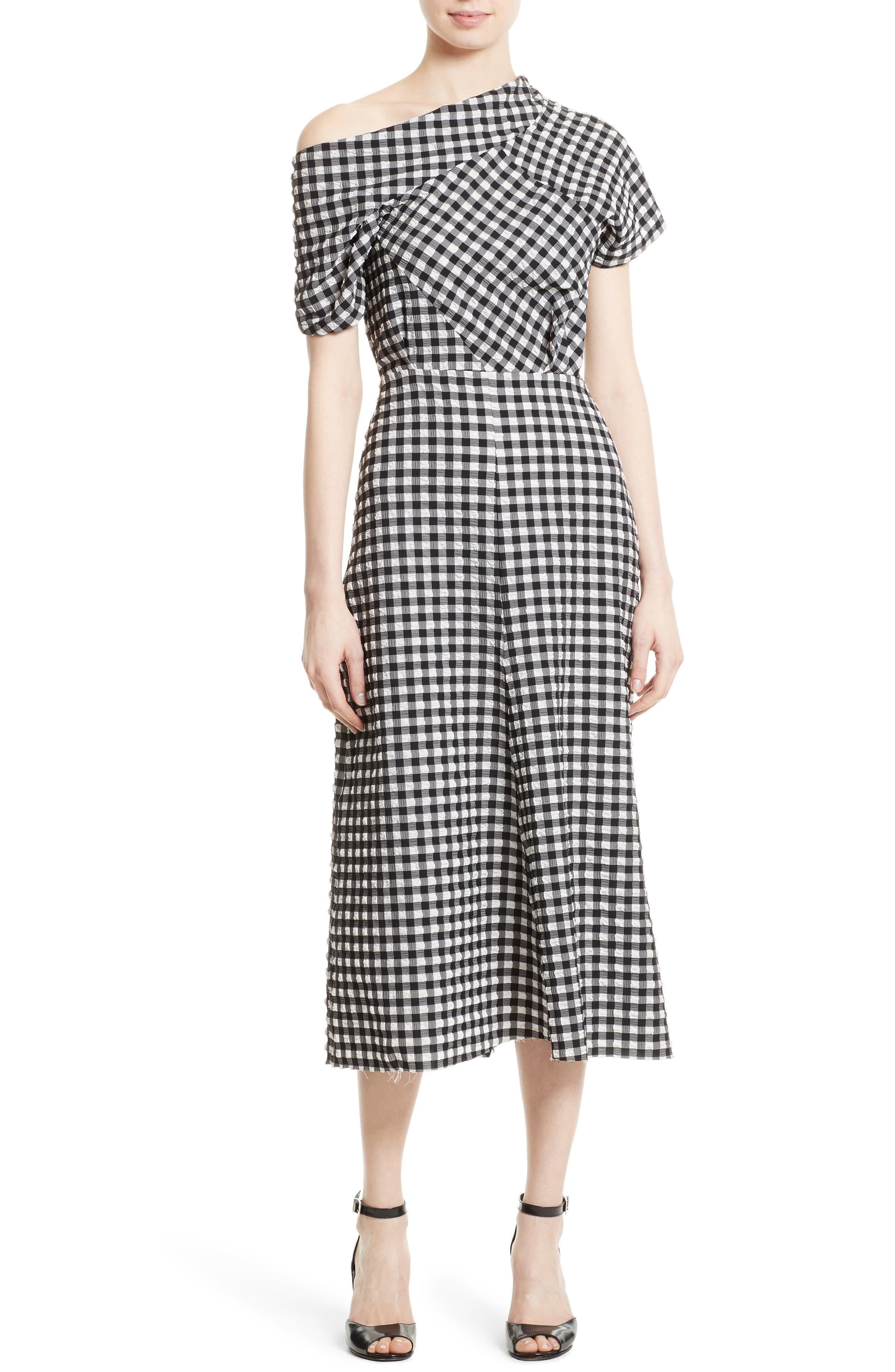 Alternate Image 1 Selected - Rachel Comey Pout One-Shoulder Midi Dress